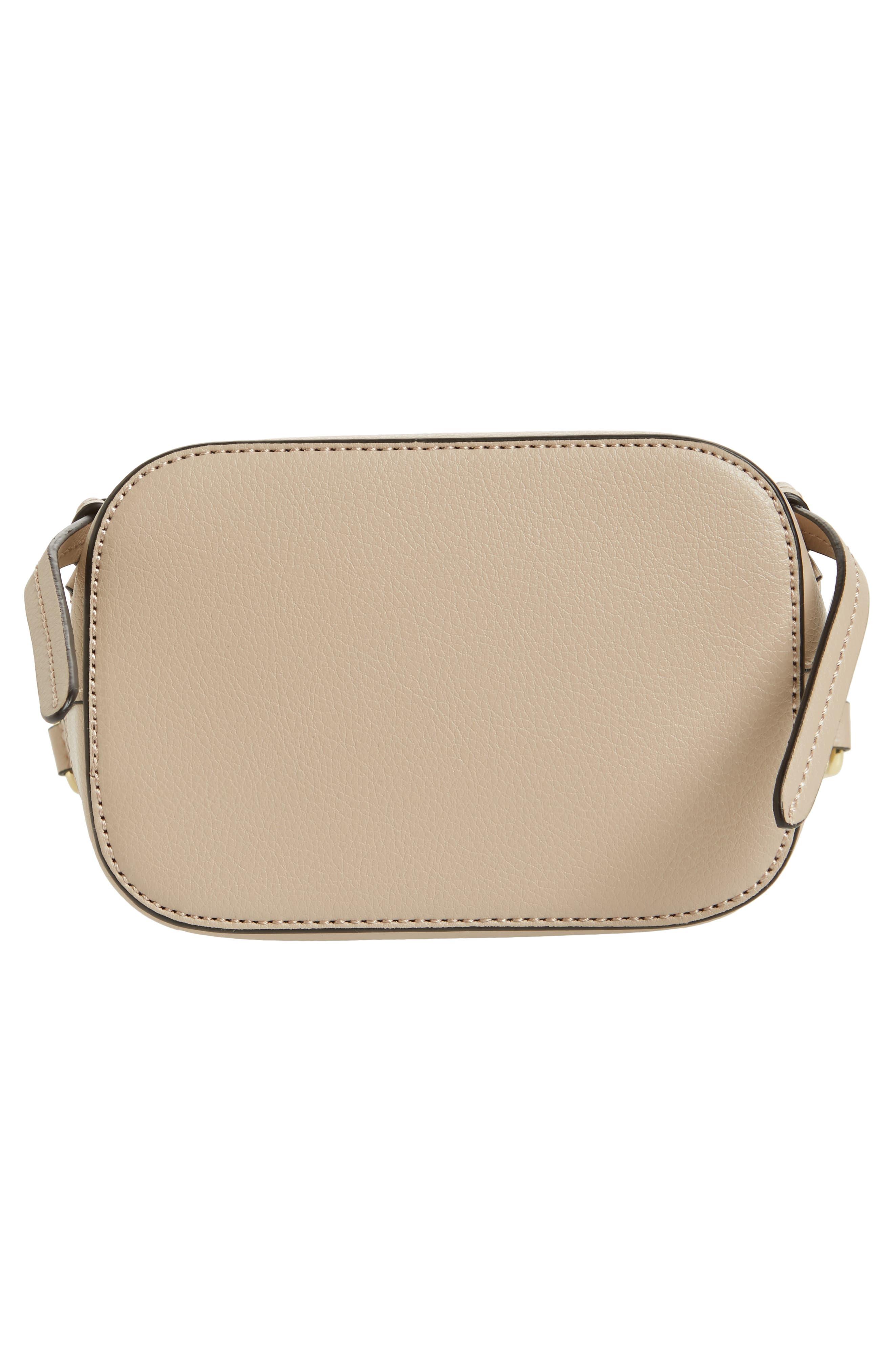 Beckett Leather Crossbody Bag,                             Alternate thumbnail 6, color,                             250