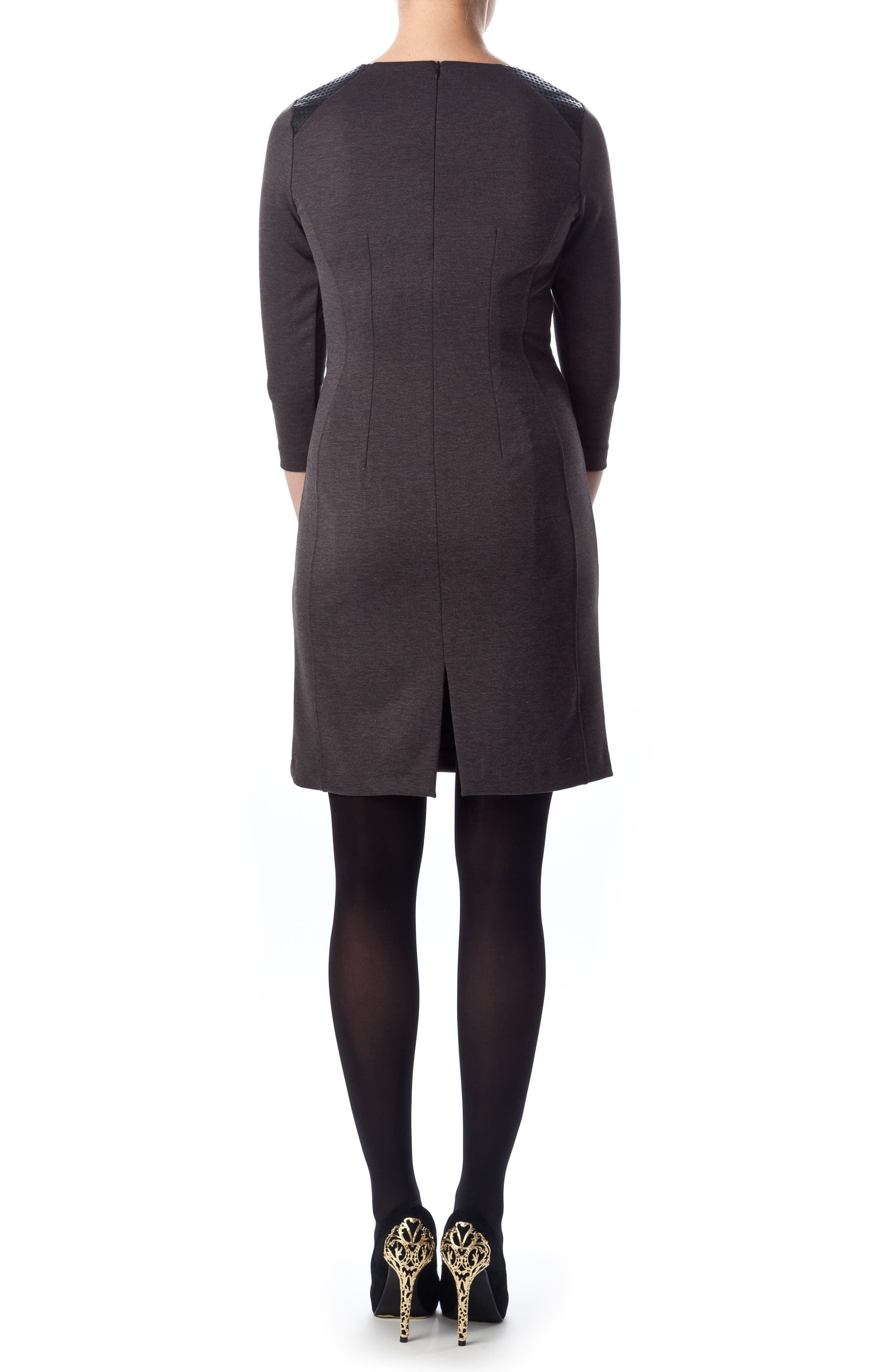 Milano Ponte Dress,                             Alternate thumbnail 2, color,                             025