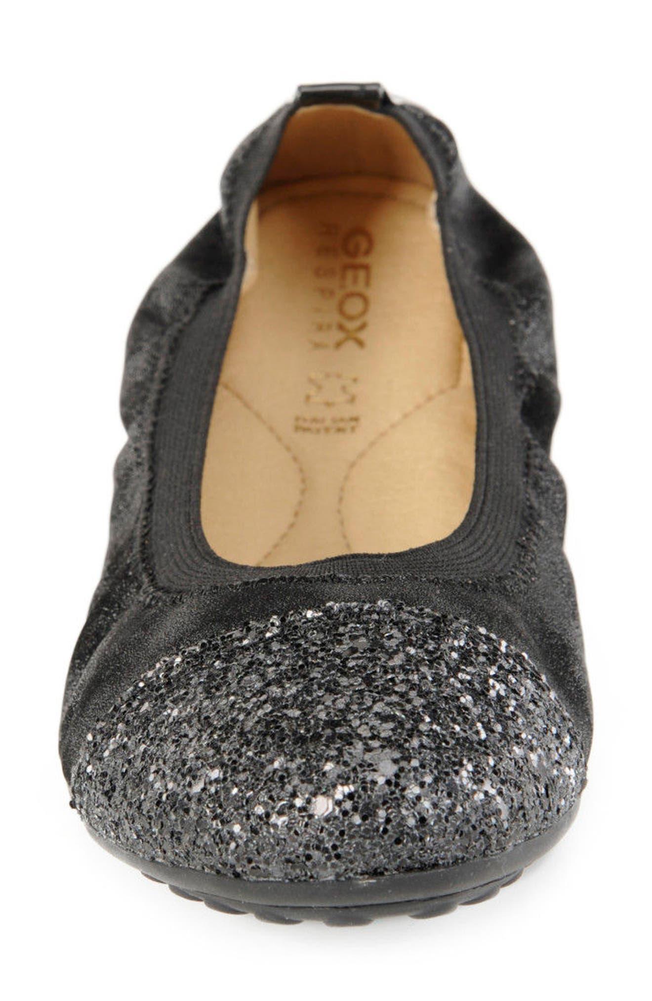 Piuma Cap Toe Ballet Flat,                             Alternate thumbnail 4, color,                             022