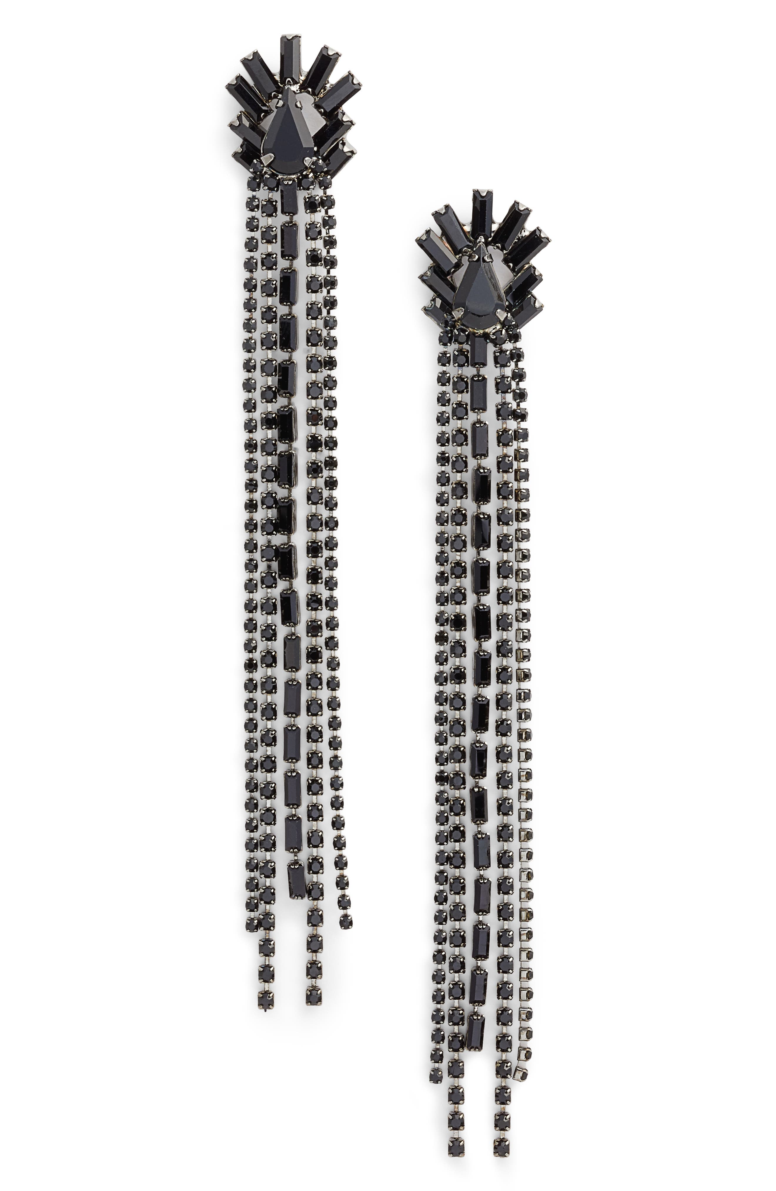 Crystal Drop Earrings,                         Main,                         color, 001