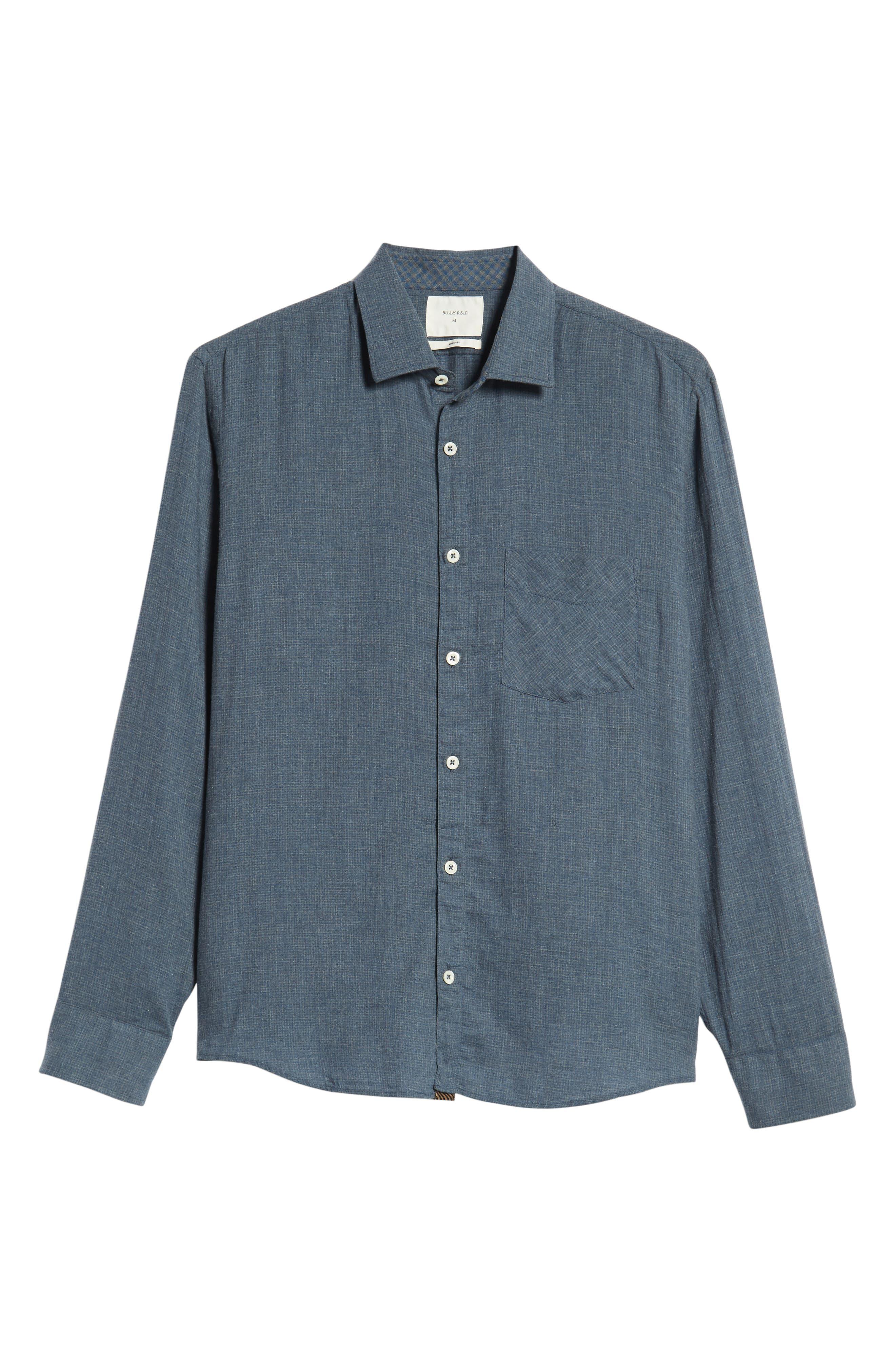 John Regular Fit Sport Shirt,                             Alternate thumbnail 6, color,                             420
