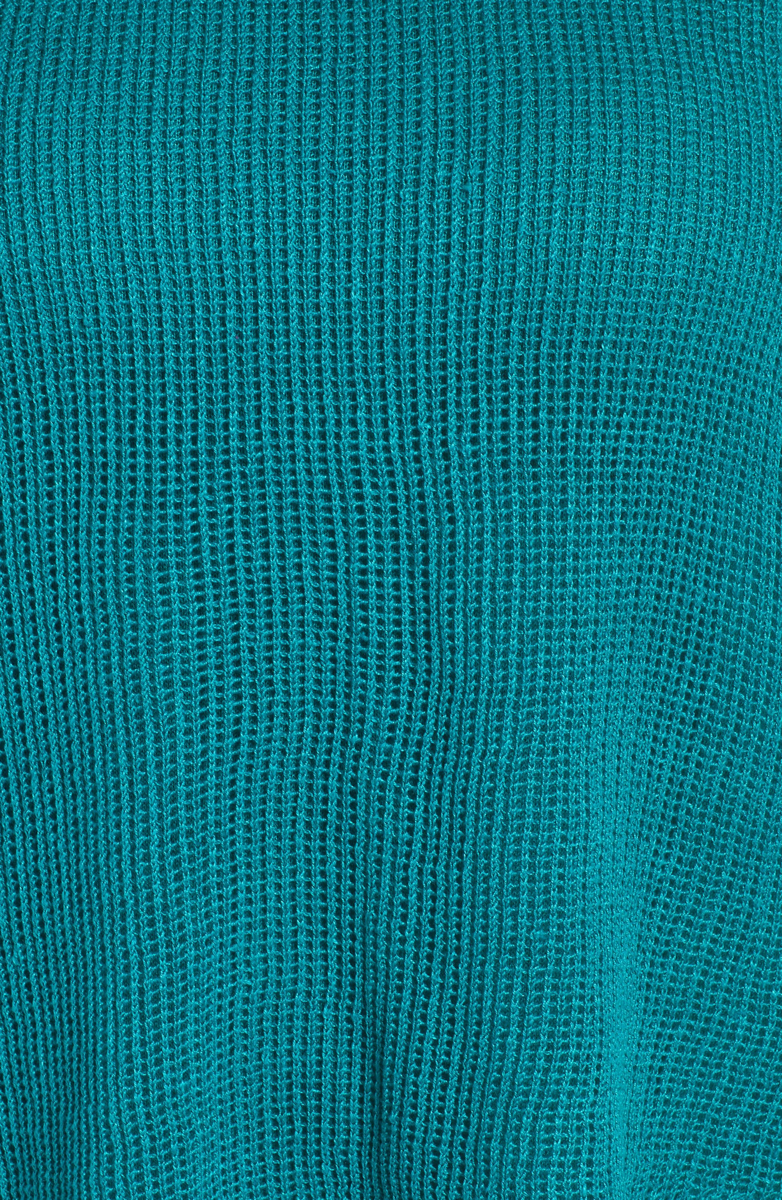 Layered Organic Linen Tunic Sweater,                             Alternate thumbnail 16, color,