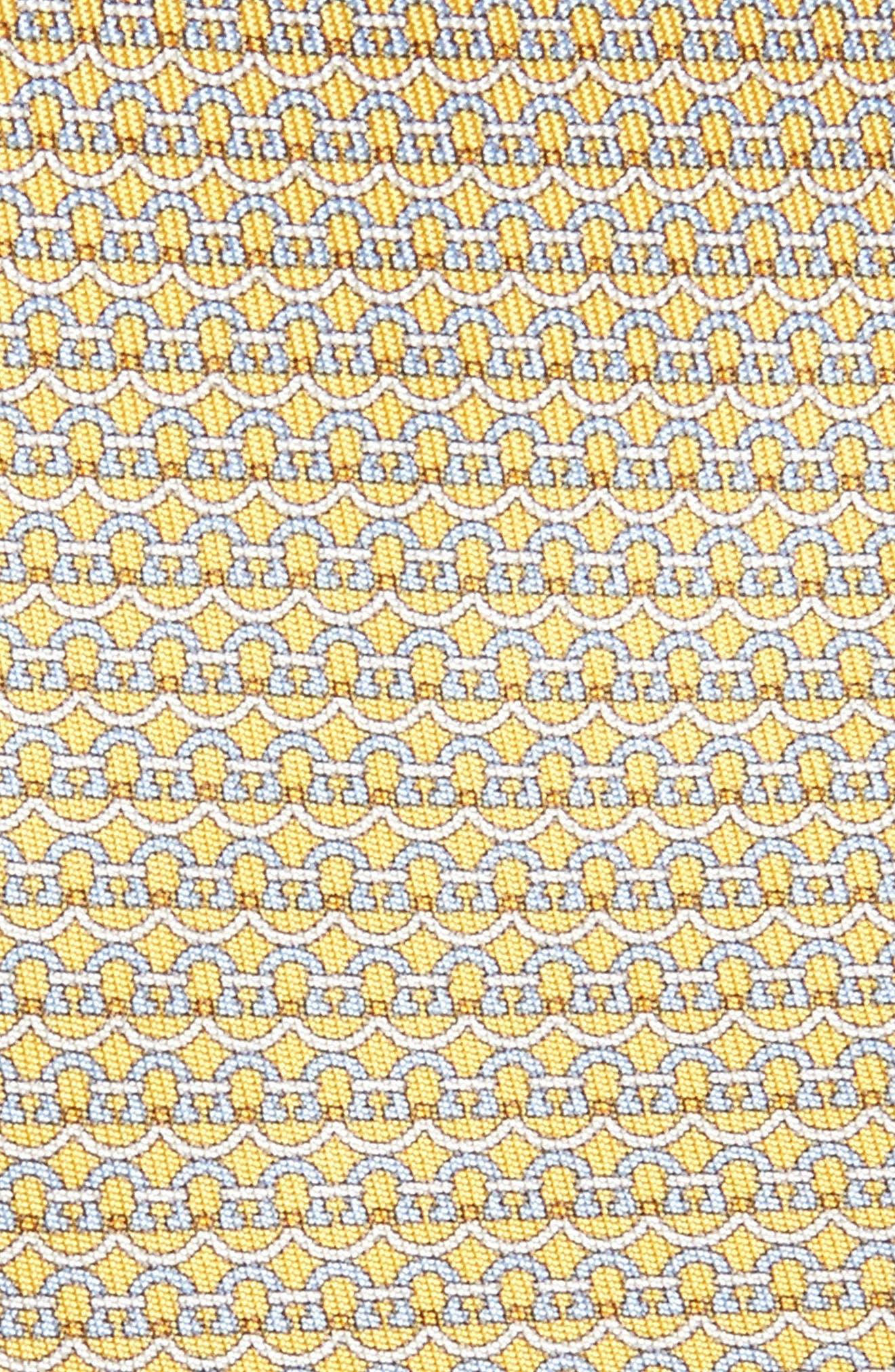 Gancini Silk Tie,                             Alternate thumbnail 10, color,