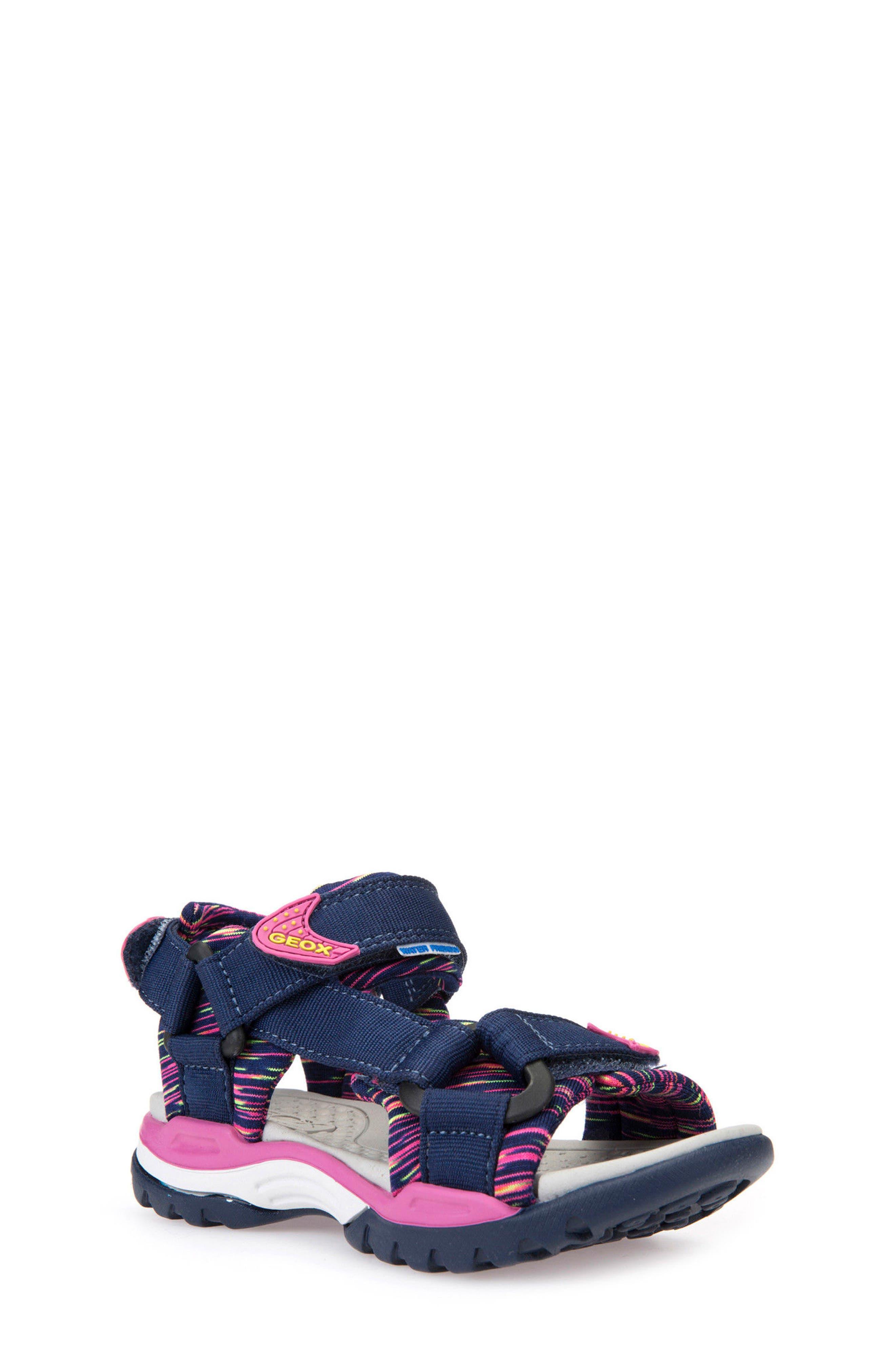 GEOX Borealis Sandal, Main, color, 414