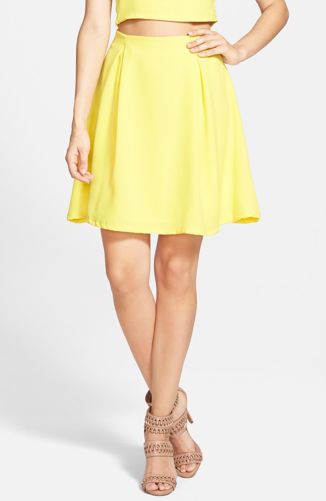 Woven A-Line Skirt,                             Main thumbnail 1, color,                             700