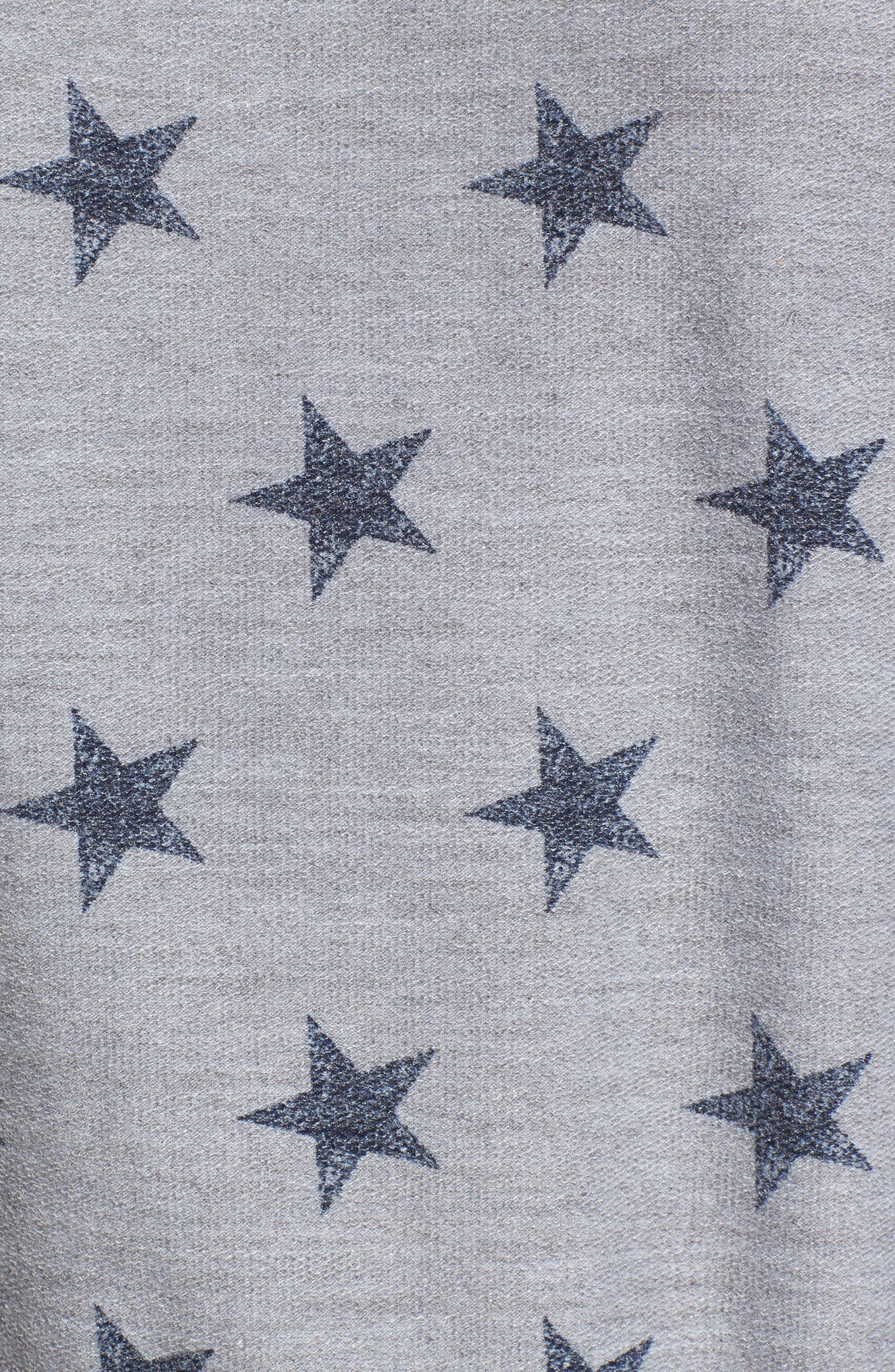 All Over Stars Pullover,                             Alternate thumbnail 5, color,                             020