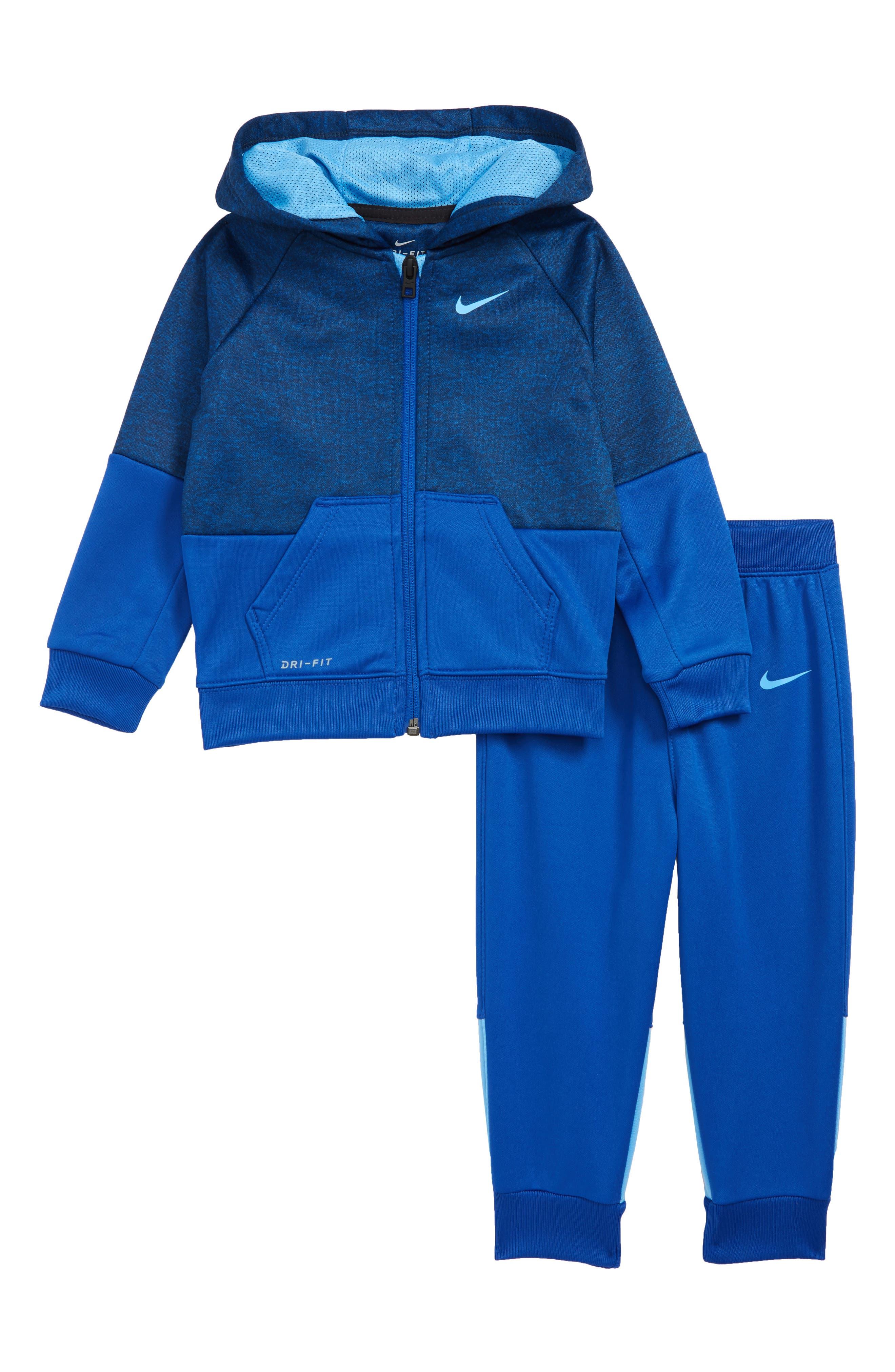 Speckle Dry Zip Hoodie & Pants Set,                         Main,                         color, GAME ROYAL