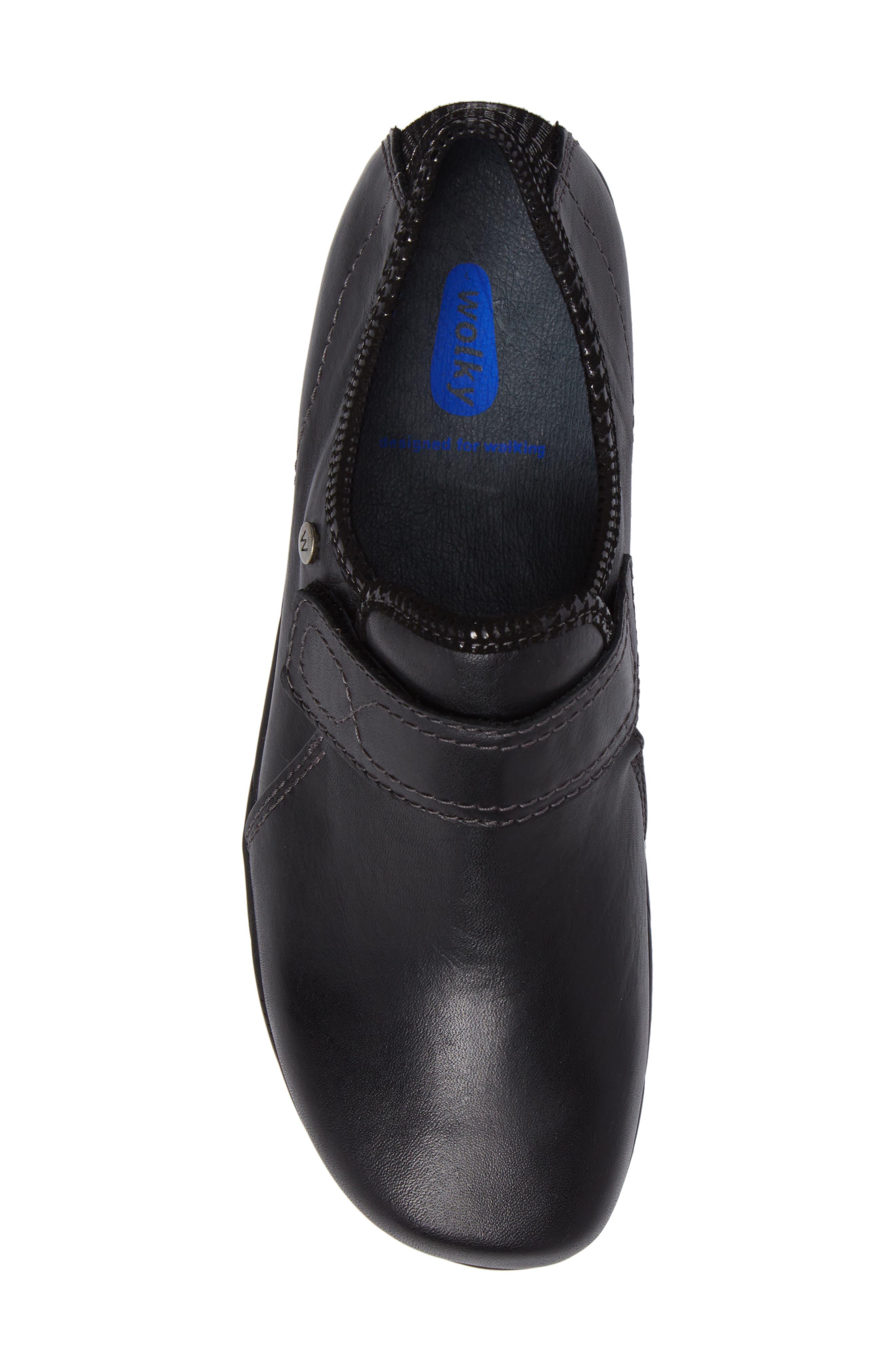 Desna Slip-On Sneaker,                             Alternate thumbnail 5, color,                             001