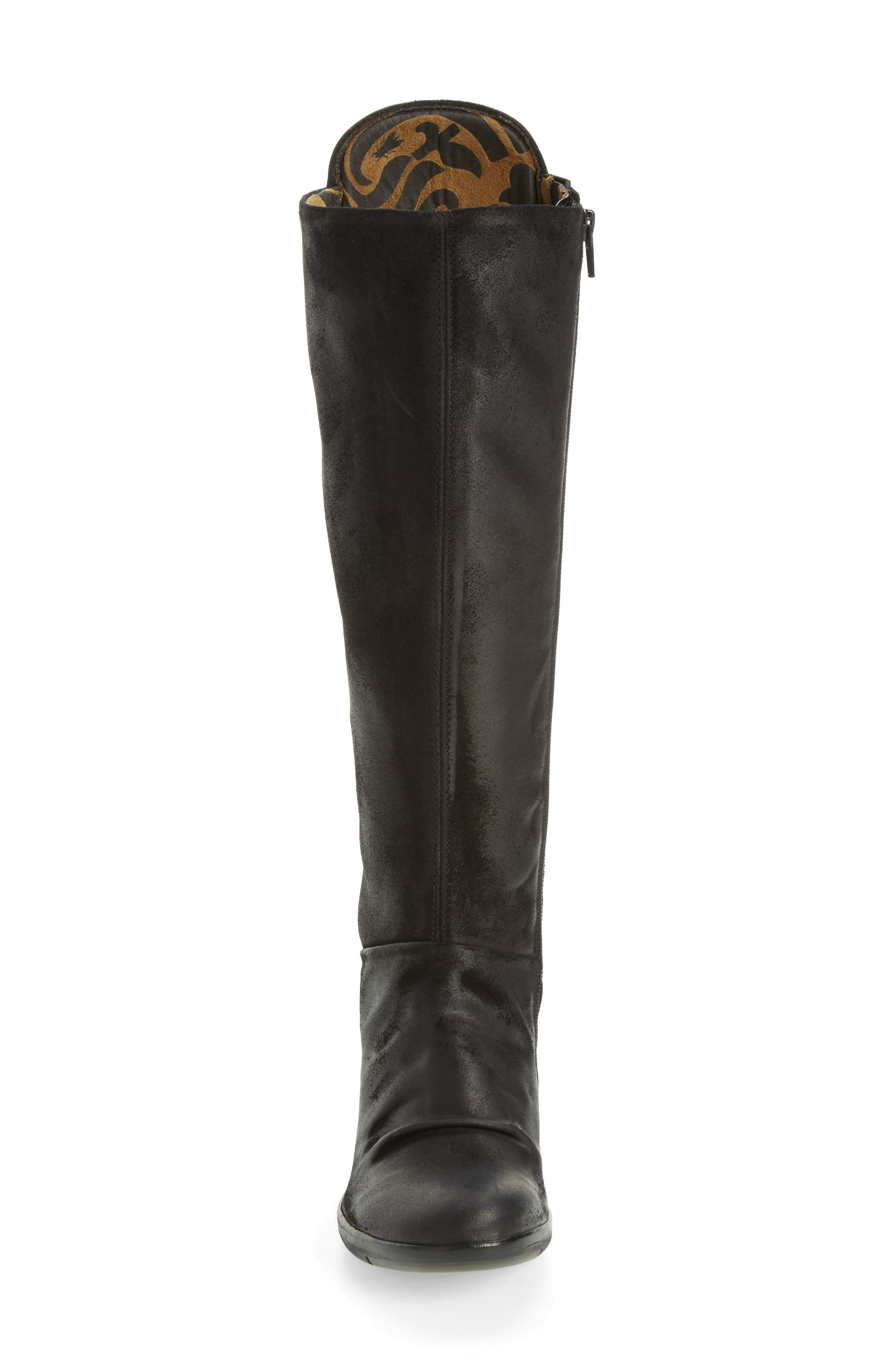 Hean Knee High Boot,                             Alternate thumbnail 4, color,