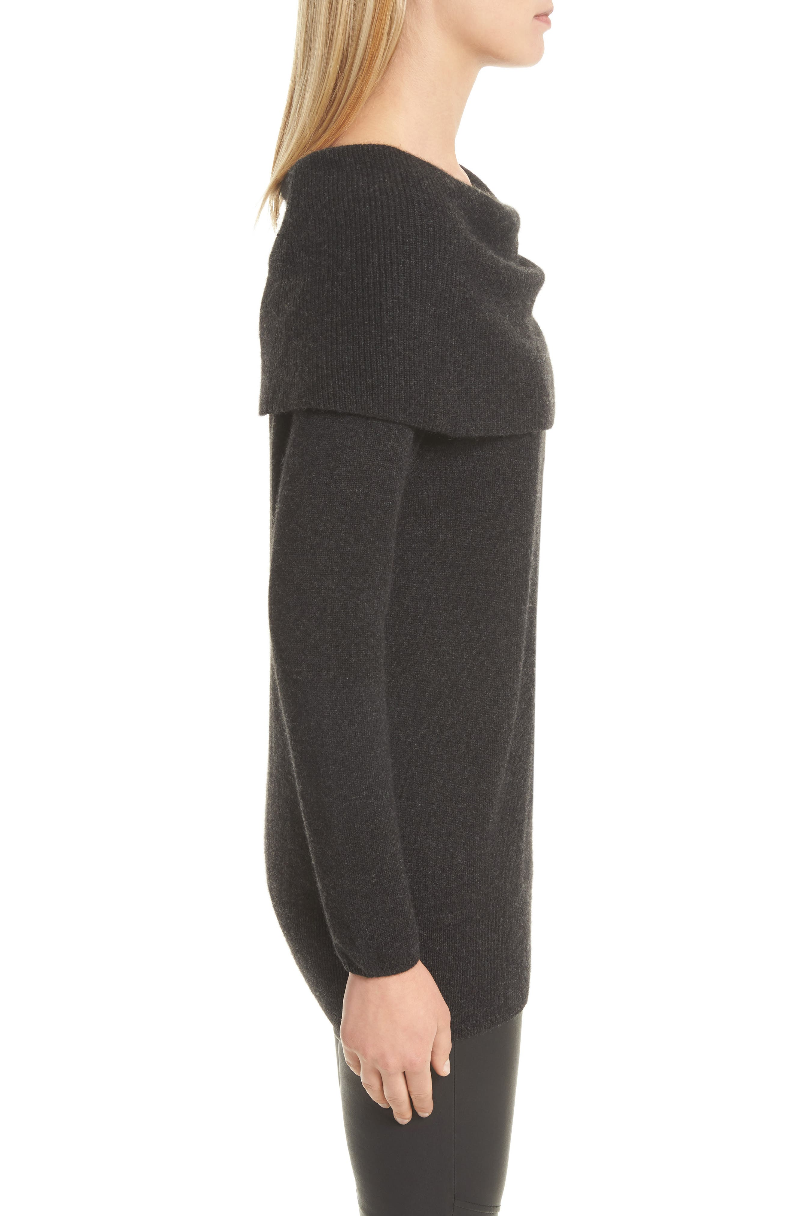 Sibel Wool & Cashmere Sweater,                             Alternate thumbnail 3, color,                             071