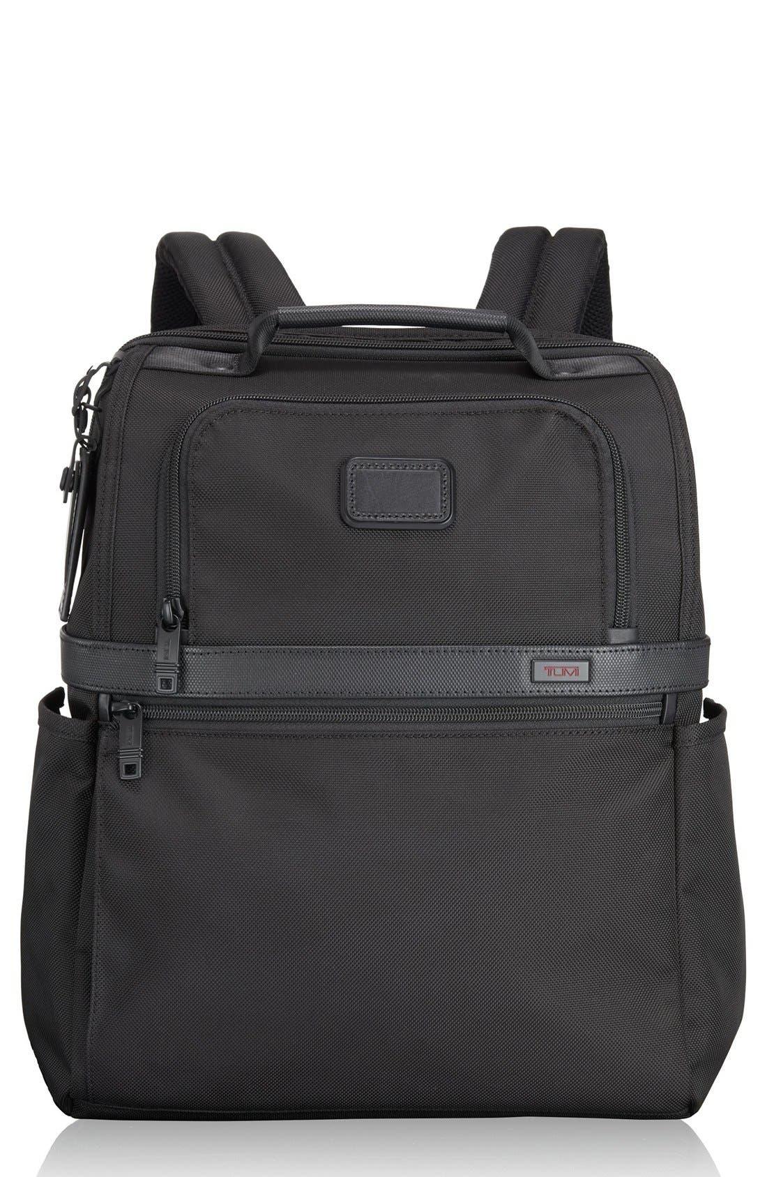 Slim Solutions Briefpack,                             Main thumbnail 1, color,                             BLACK