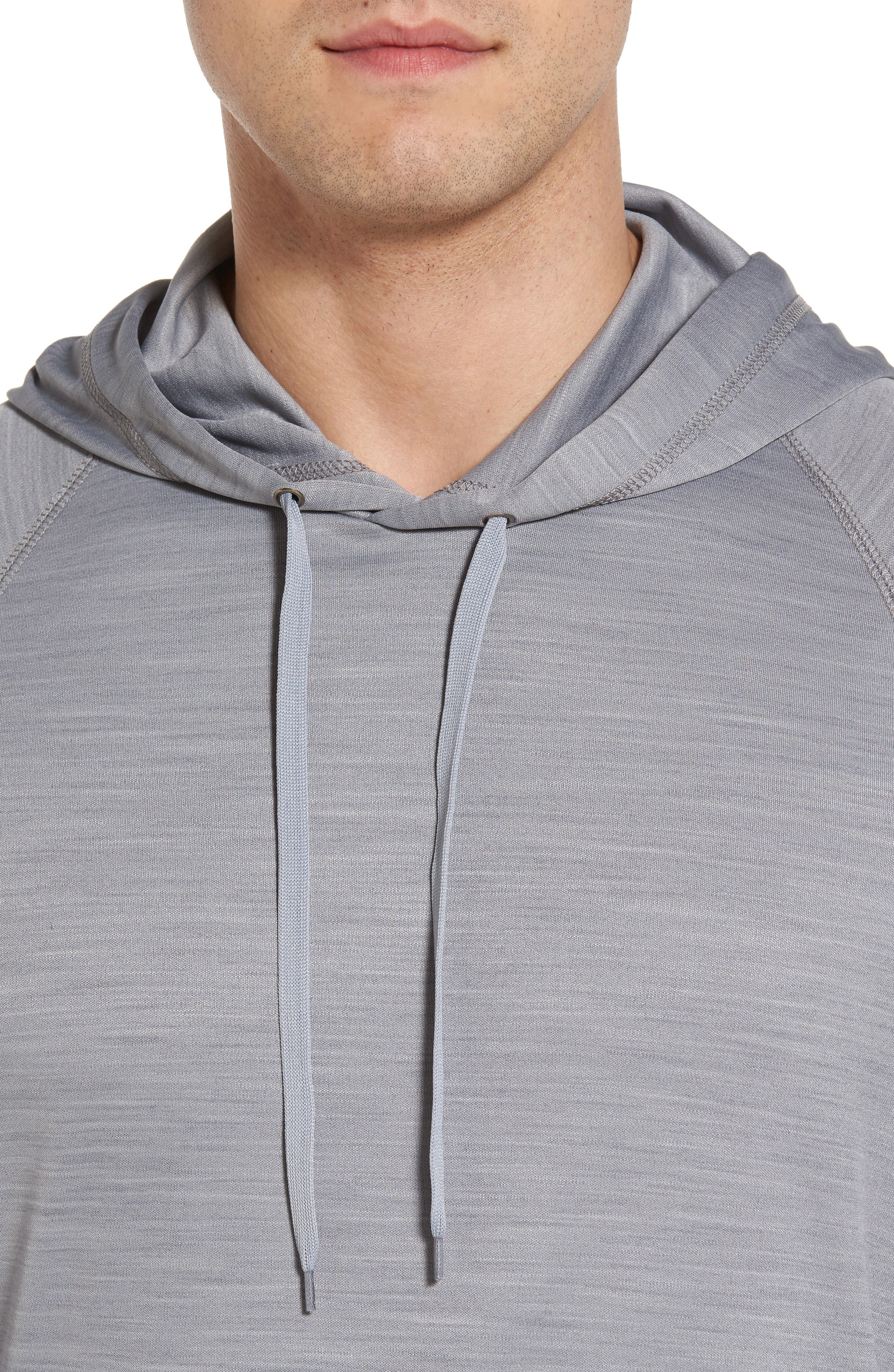 Undercover Hooded Long Sleeve Performance T-Shirt,                             Alternate thumbnail 4, color,                             020