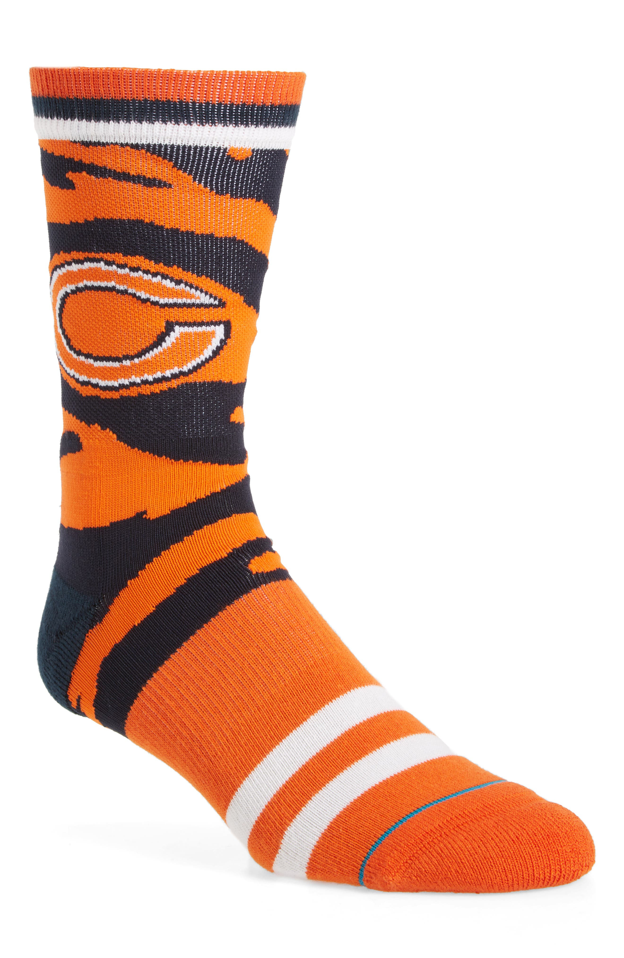 Chicago Bears - Tiger Stripe Socks,                         Main,                         color, 800
