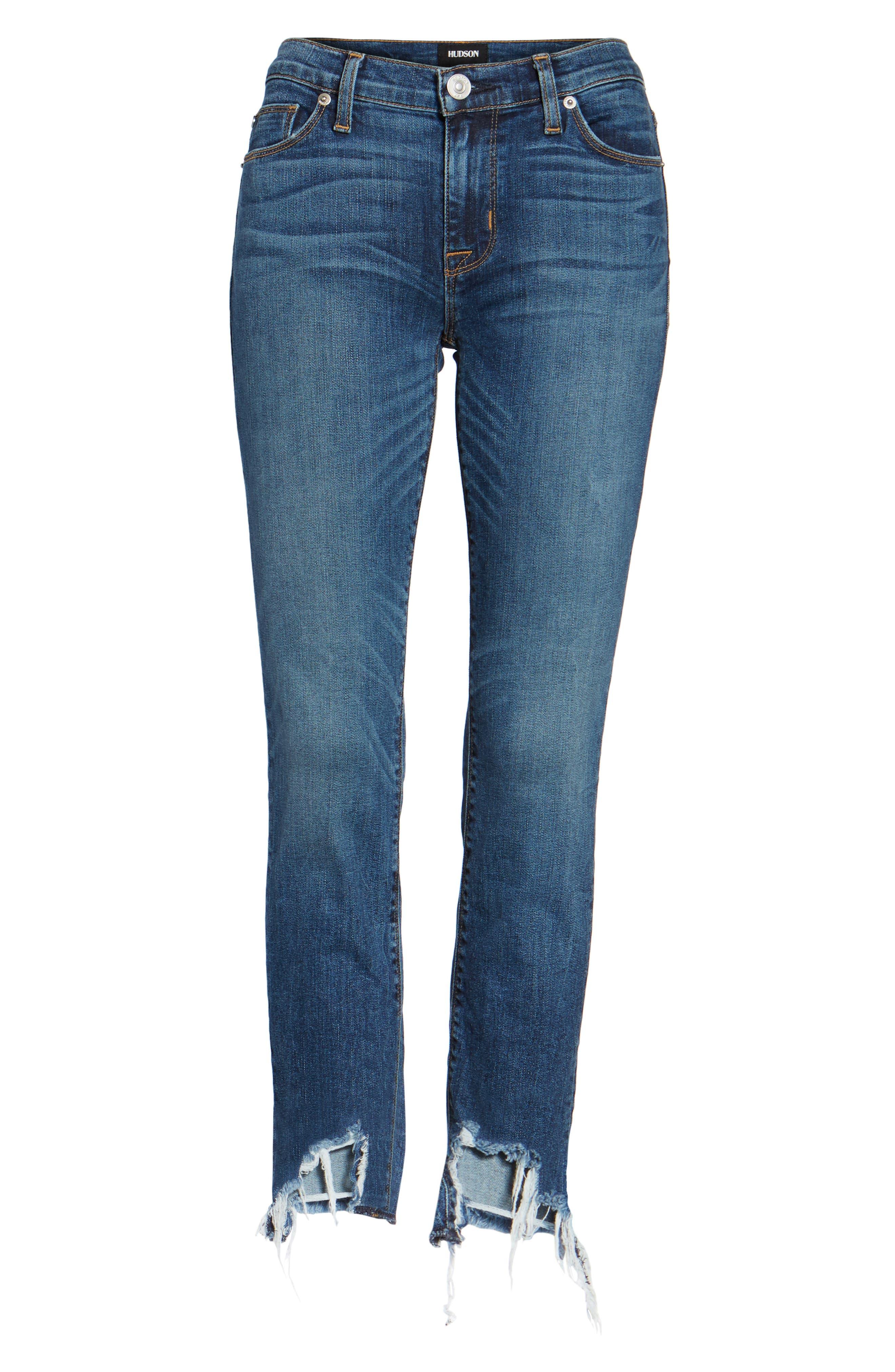 Tally Unfamed Hem Skinny Jeans,                             Alternate thumbnail 23, color,