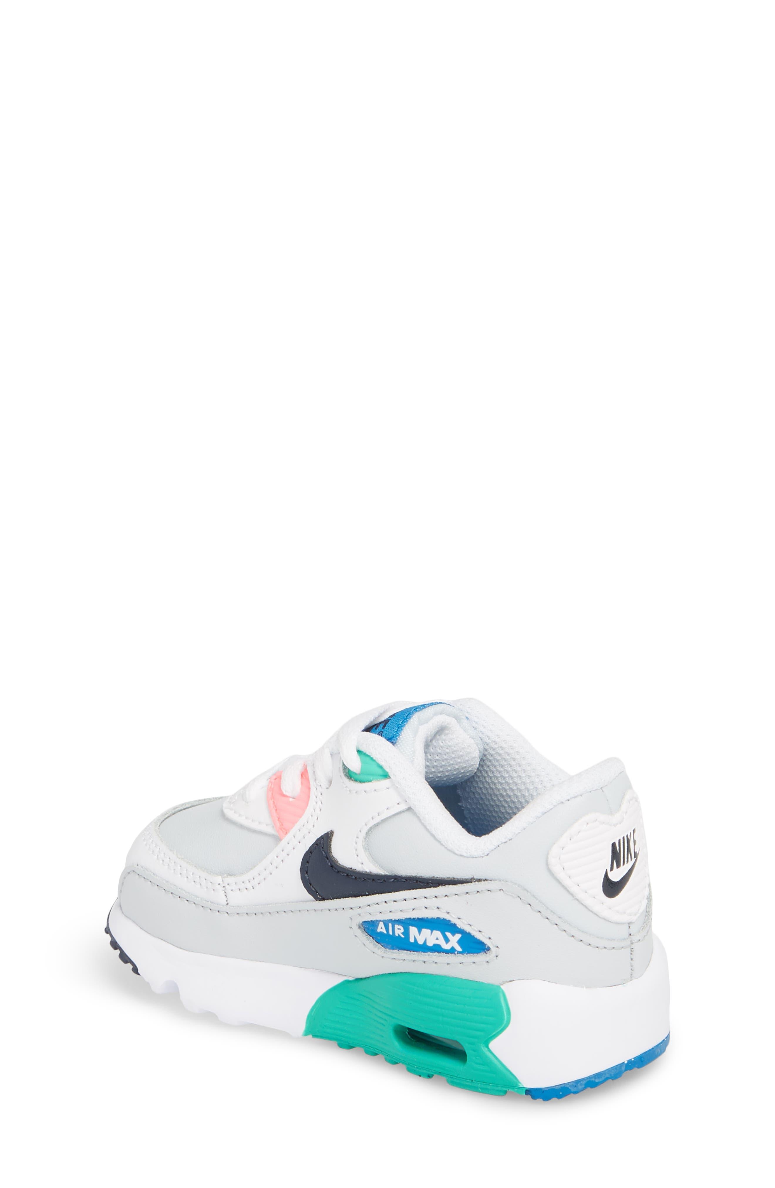 Air Max 90 Sneaker,                             Alternate thumbnail 4, color,