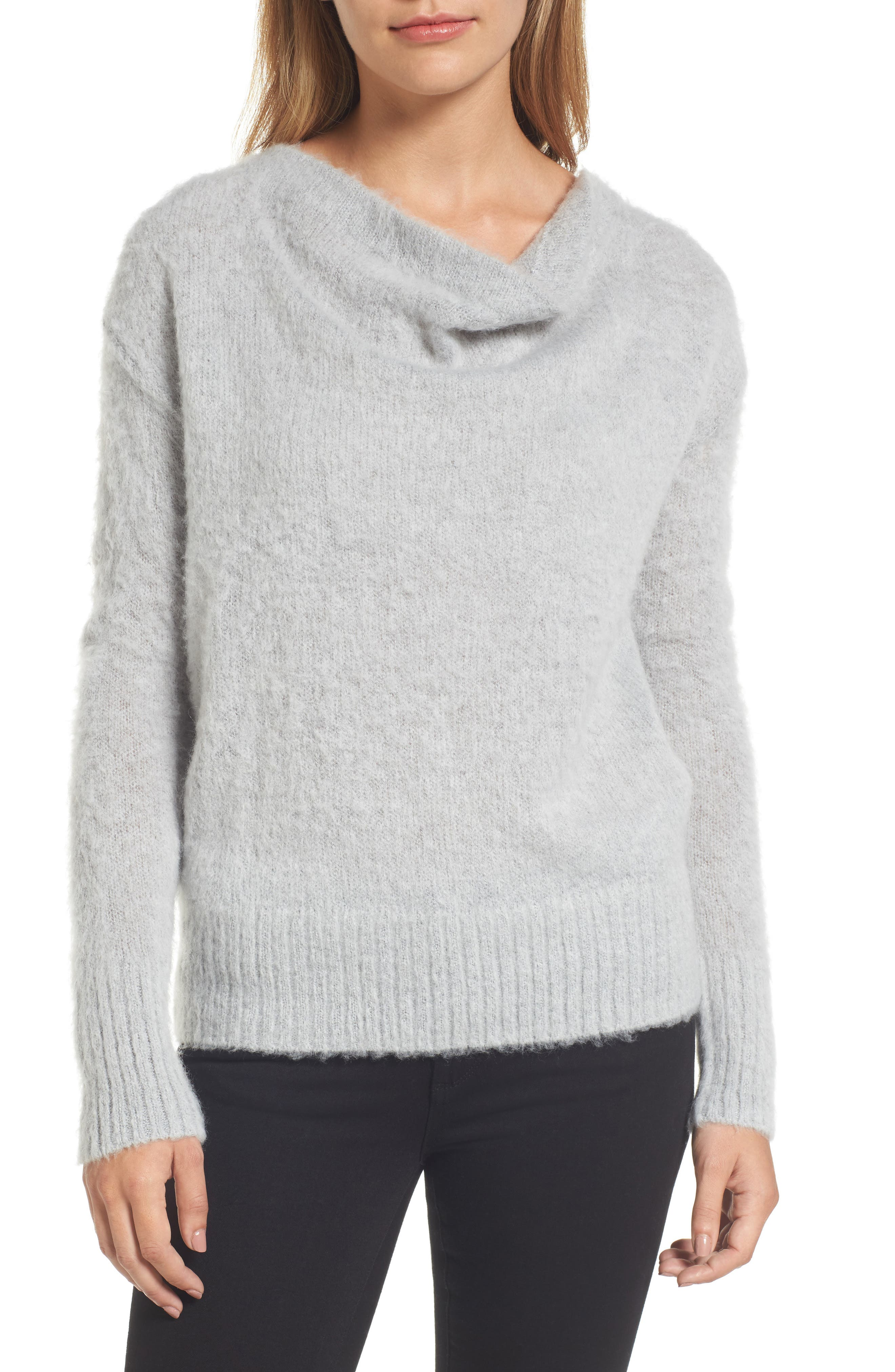 Long Sleeve Brushed Sweater,                             Main thumbnail 2, color,