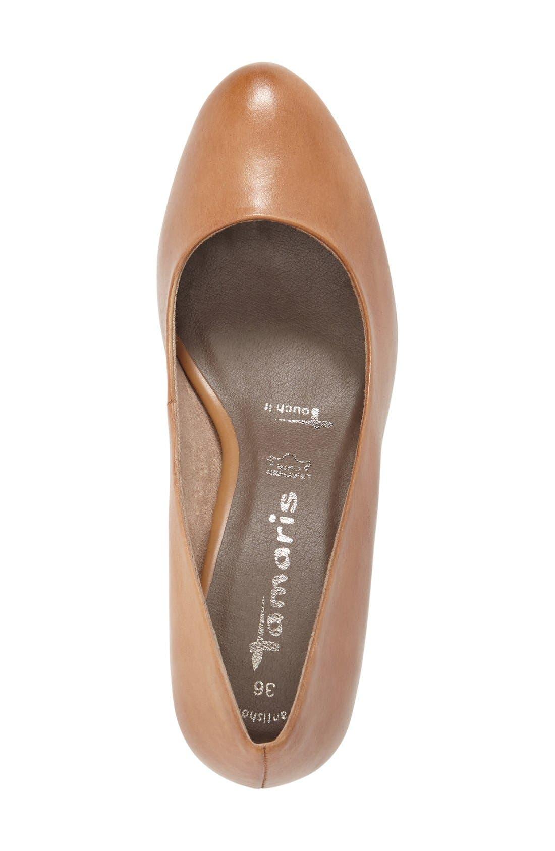 'Pimela' Almond Toe Pump,                             Alternate thumbnail 6, color,