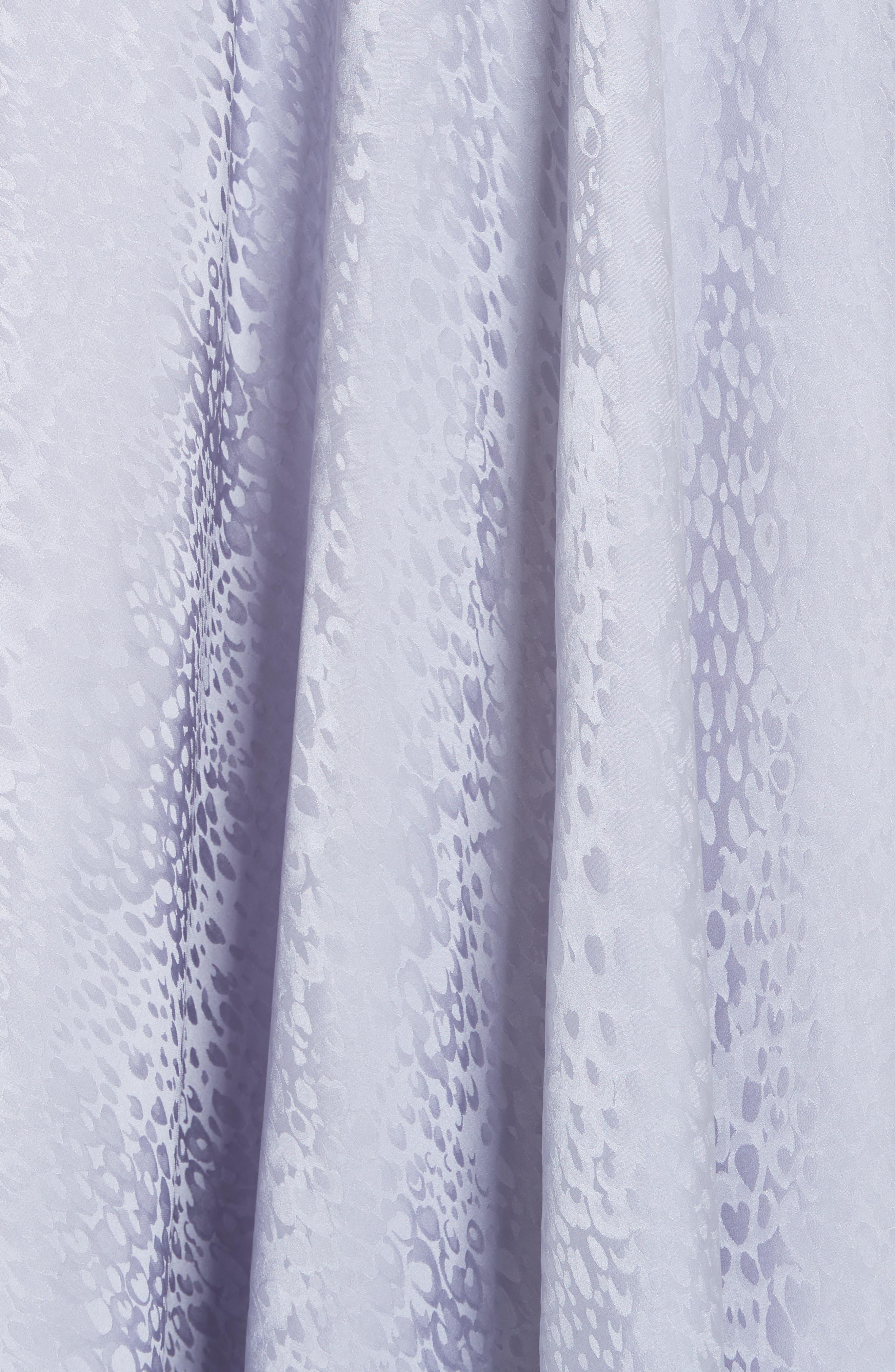 A.L.C.,                             Willa Asymmetrical Silk Jacquard Dress,                             Alternate thumbnail 6, color,                             540