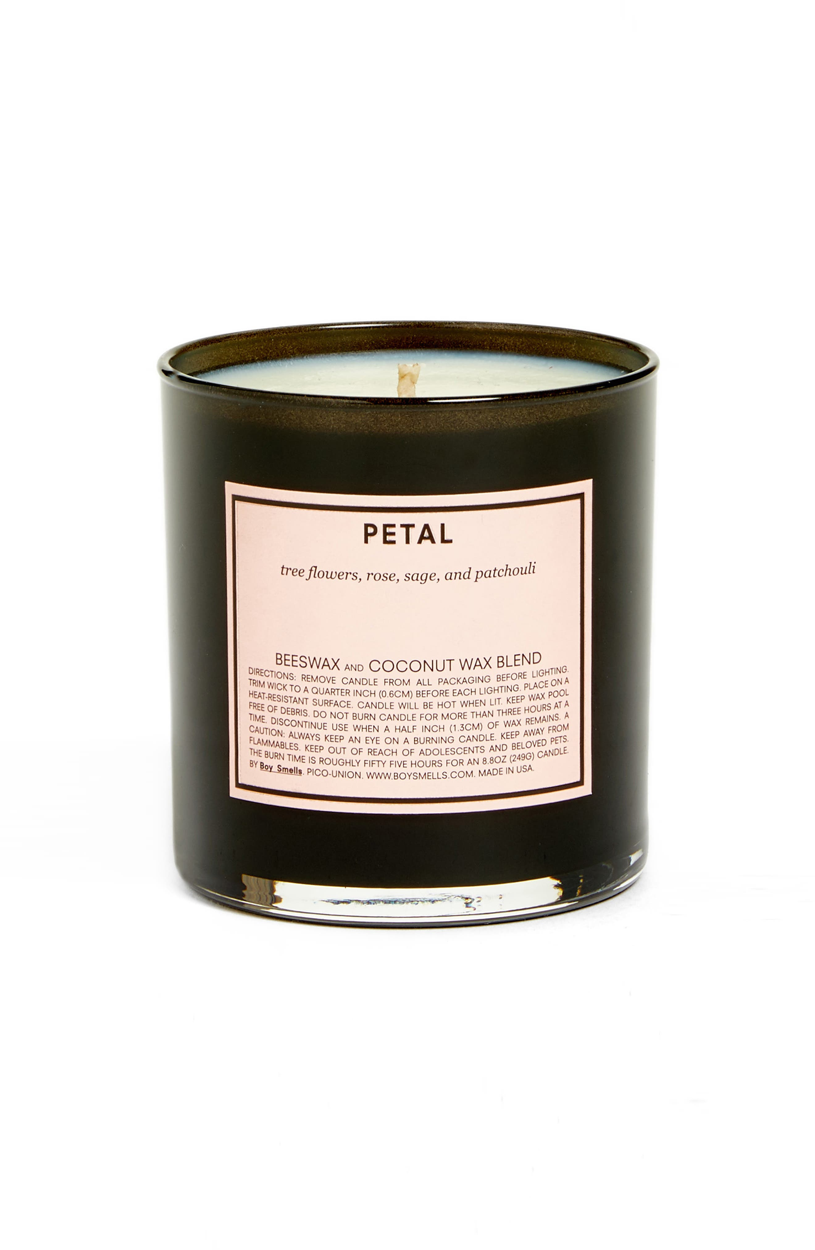 Petal Scented Candle,                             Main thumbnail 1, color,                             NONE