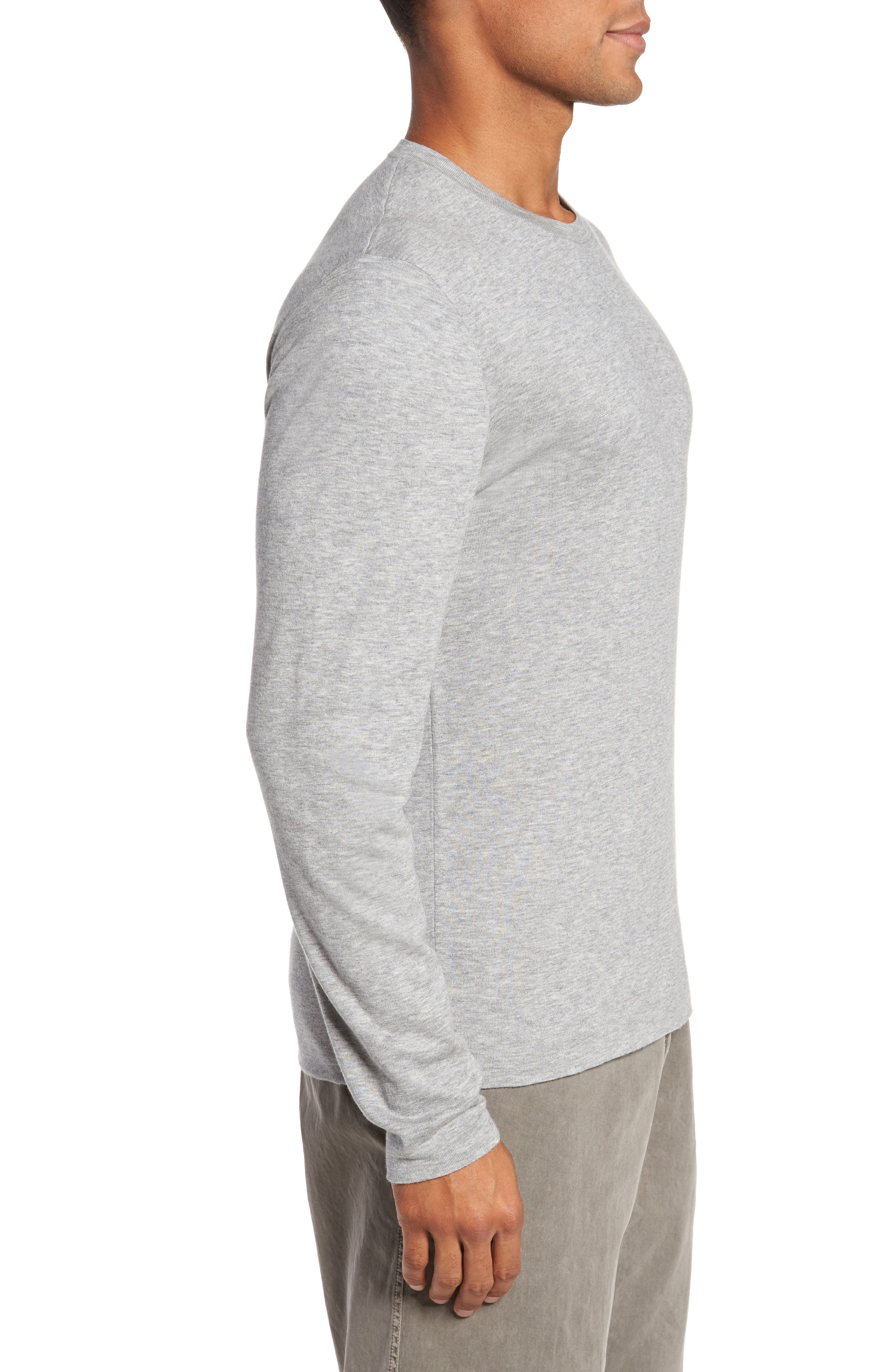 Reversible Long Sleeve T-Shirt,                             Alternate thumbnail 3, color,                             020