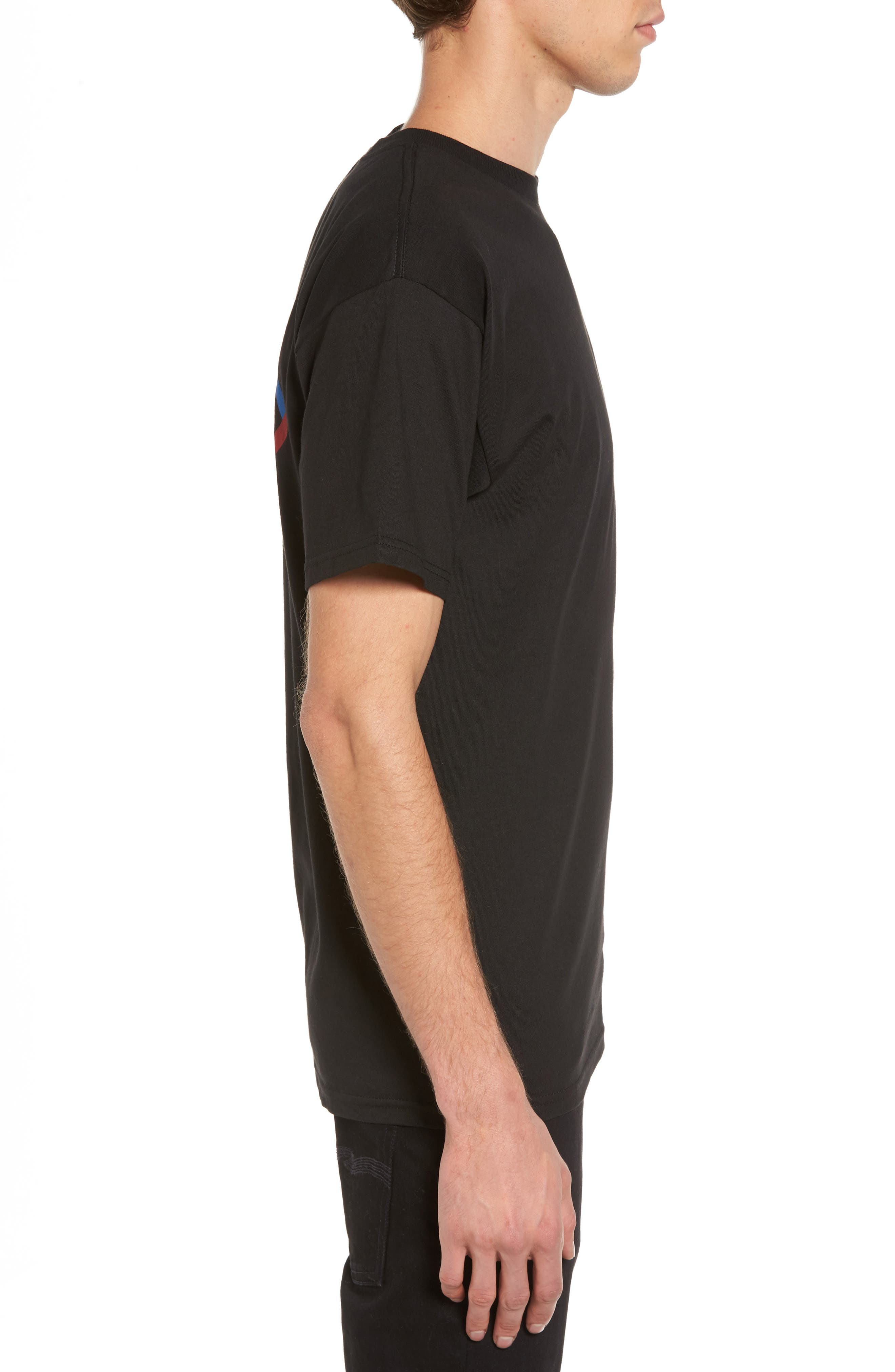 Peabody Standard T-Shirt,                             Alternate thumbnail 3, color,                             001