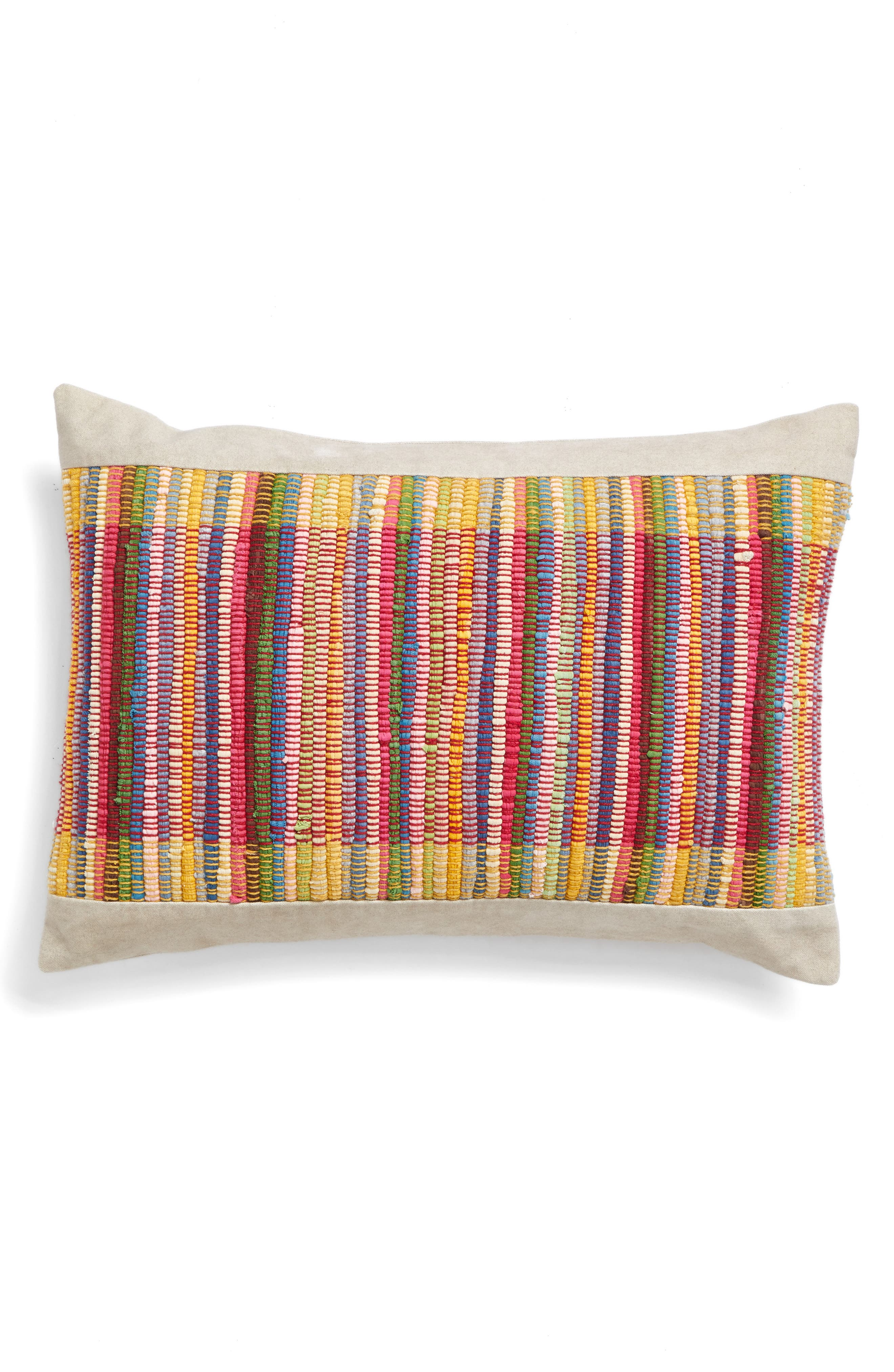 Woven Accent Pillow,                         Main,                         color, 250