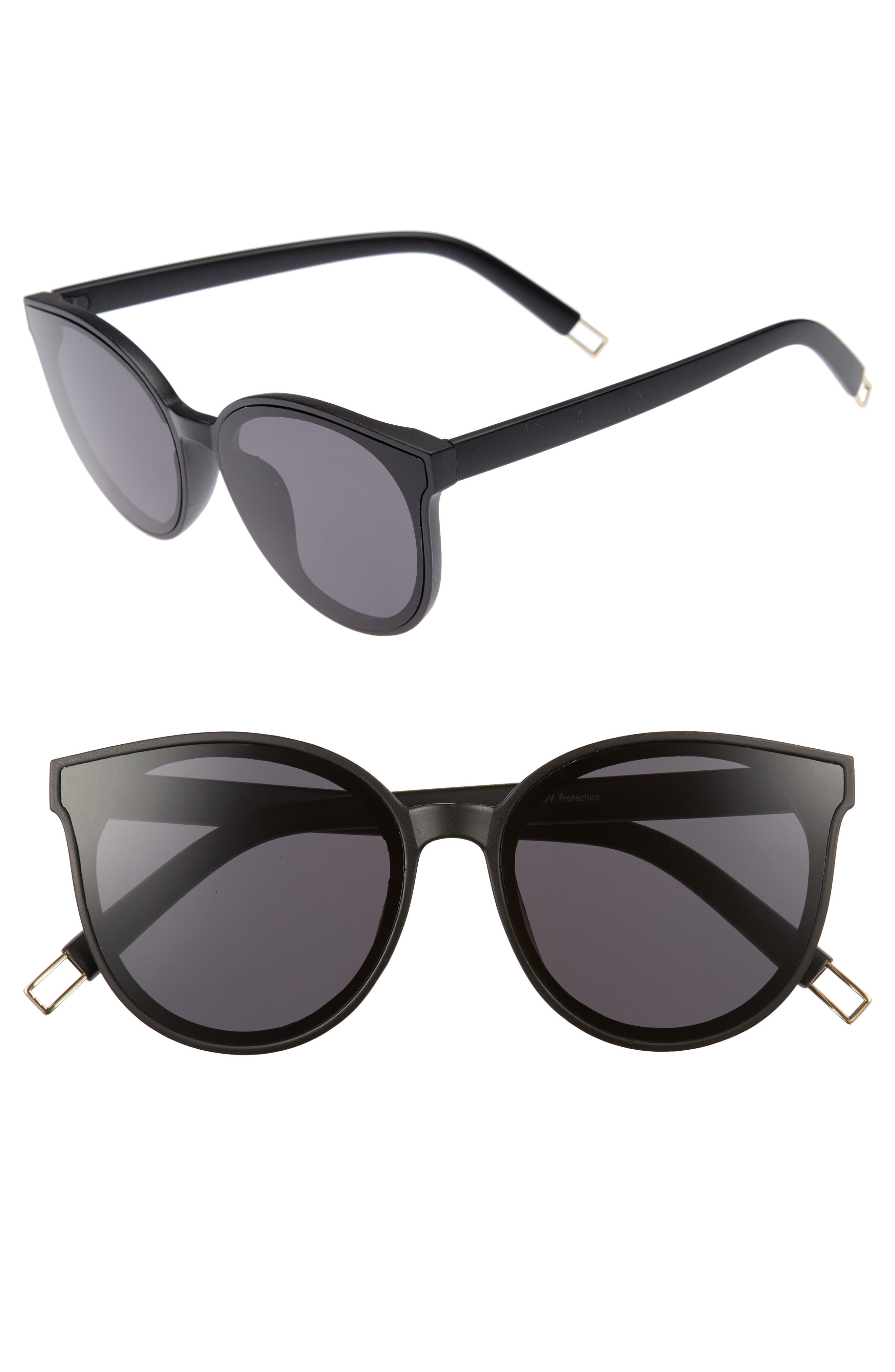 59mm Metal Tip Round Sunglasses,                             Main thumbnail 2, color,