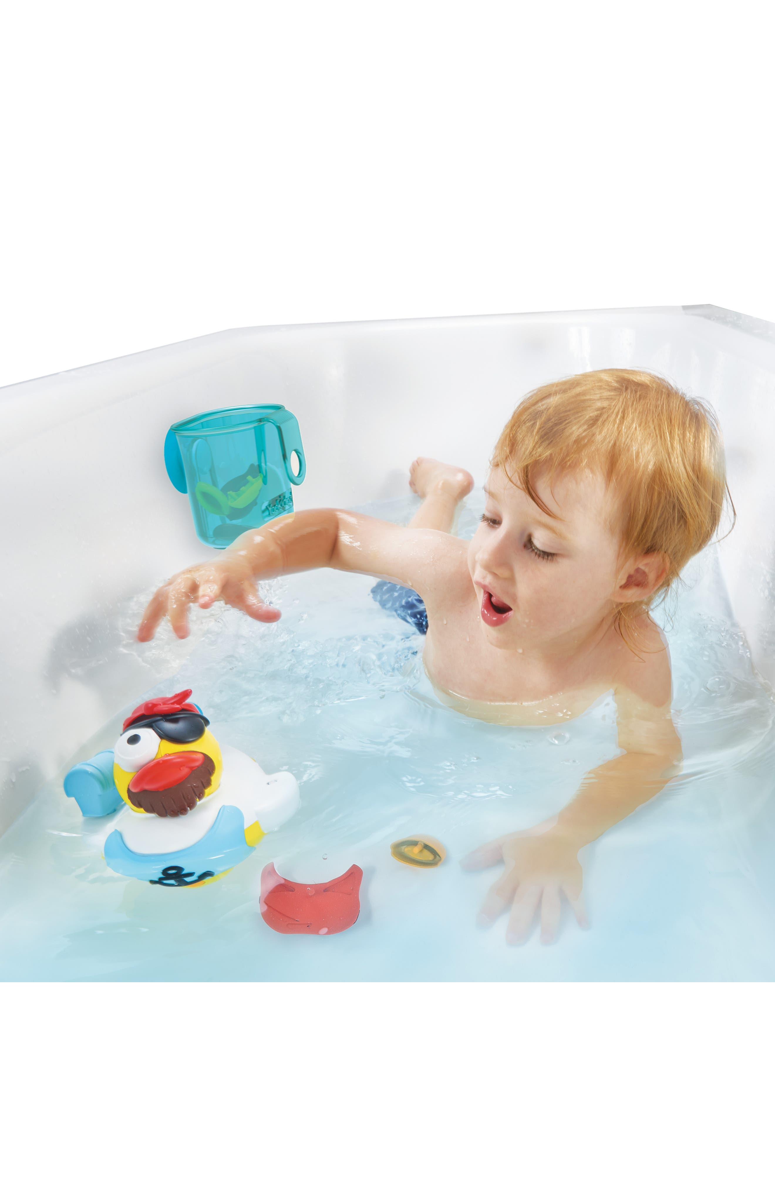 Jet Duck<sup>™</sup> Create a Pirate Bath Toy Kit,                             Alternate thumbnail 9, color,                             YELLOW