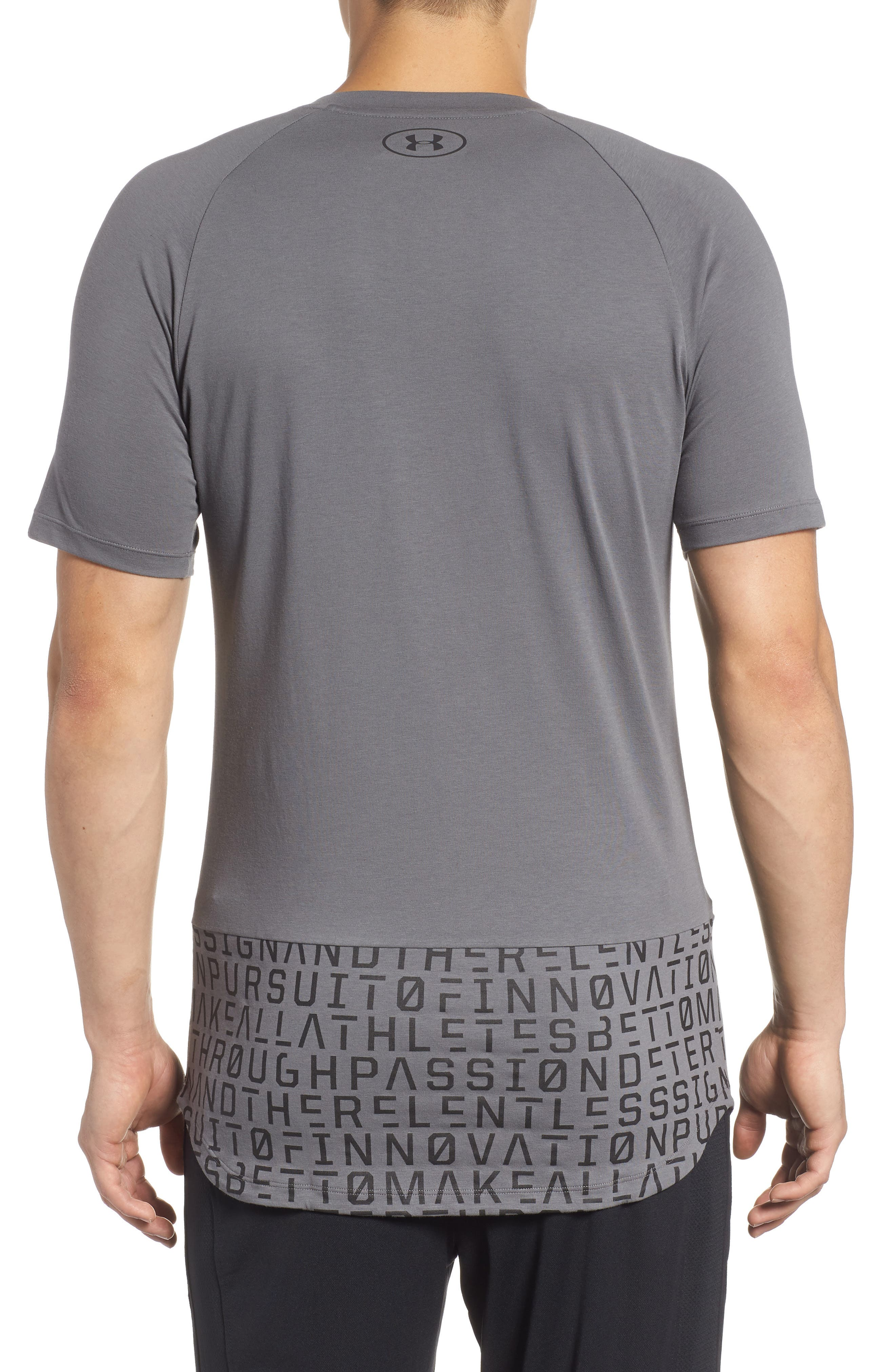 Perpetual Graphic T-Shirt,                             Alternate thumbnail 2, color,                             GRAPHITE