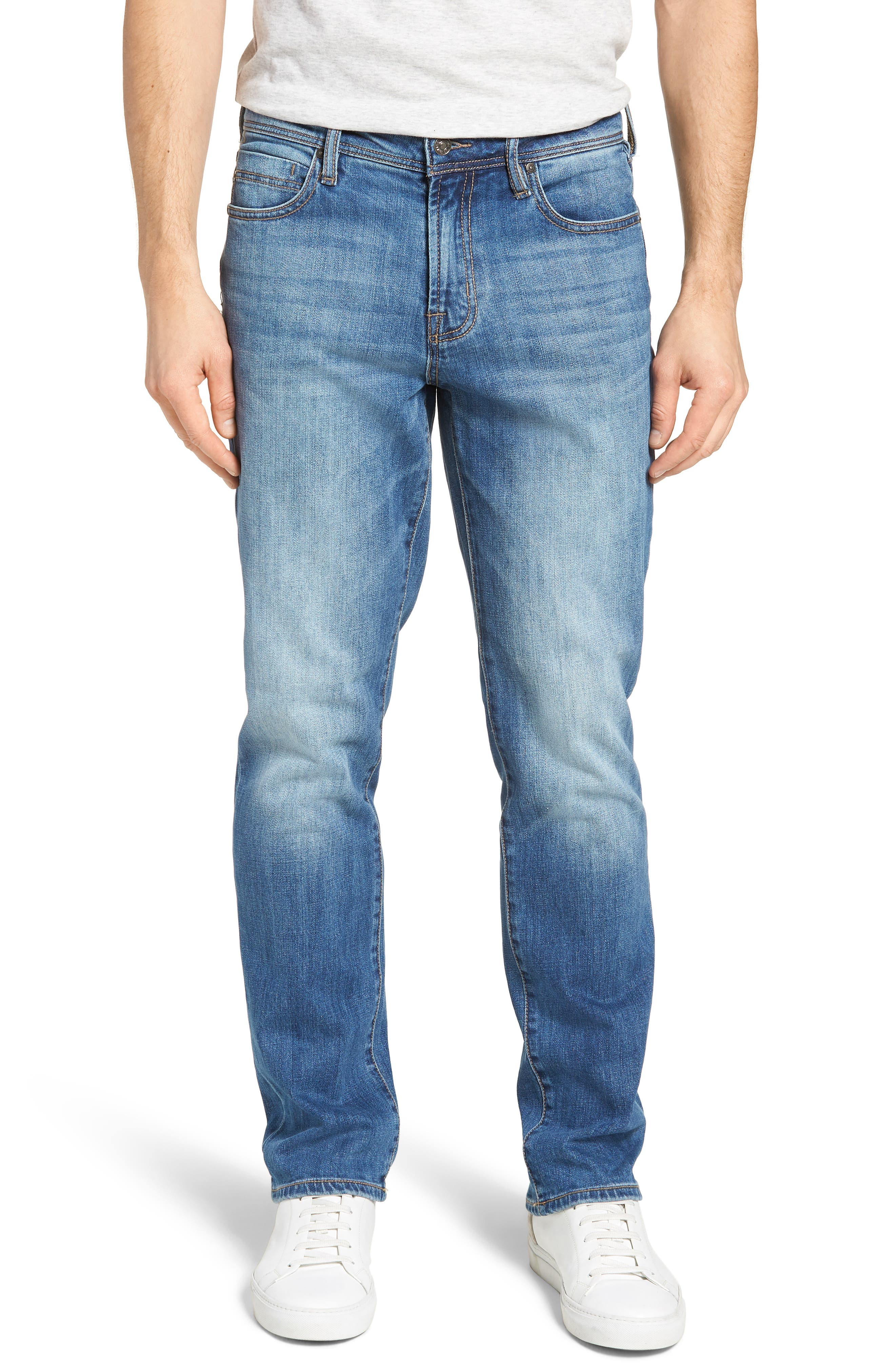 Jeans Co. Relaxed Fit Jeans,                         Main,                         color, BRYSON VINTAGE MED