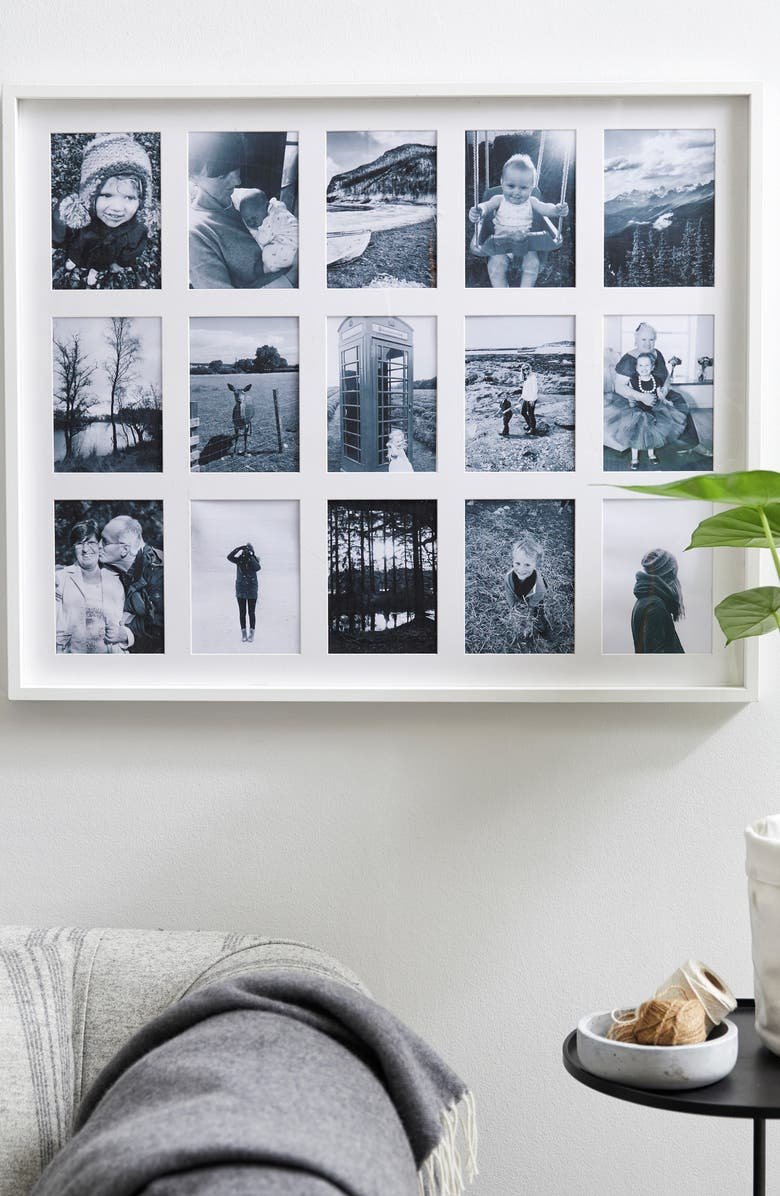 The White Company Fine Memories 15-Photo Wood Frame   Nordstrom