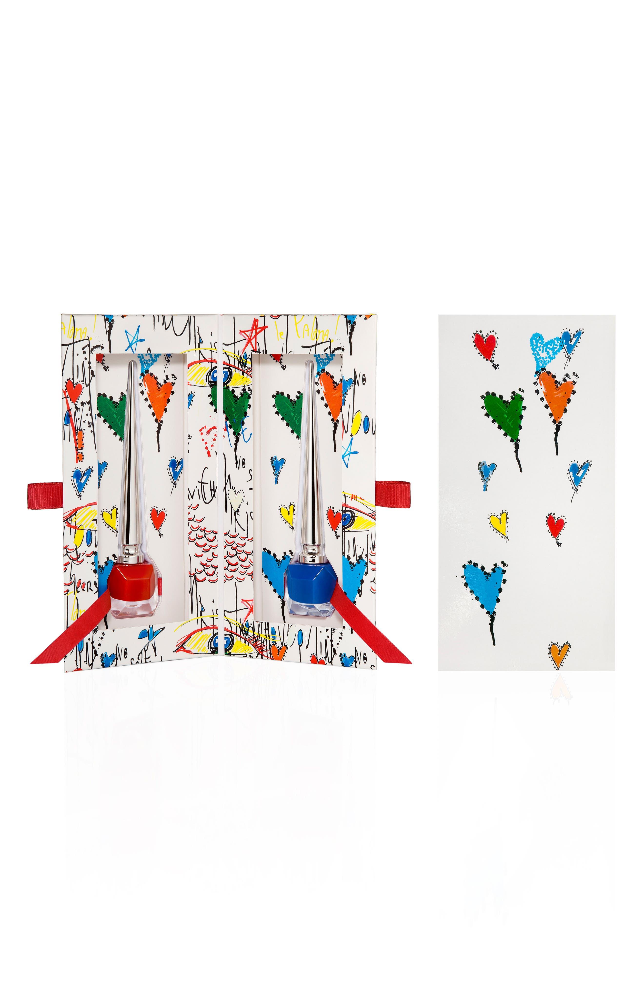 Loubitag Nail Collection,                         Main,                         color, EDGYPOPI / BARABOUM