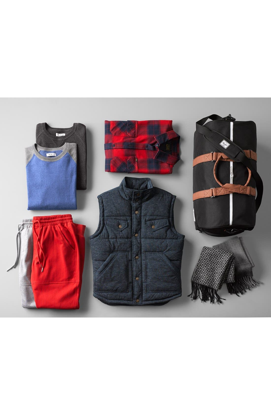 Quilted Vest,                             Alternate thumbnail 5, color,                             400