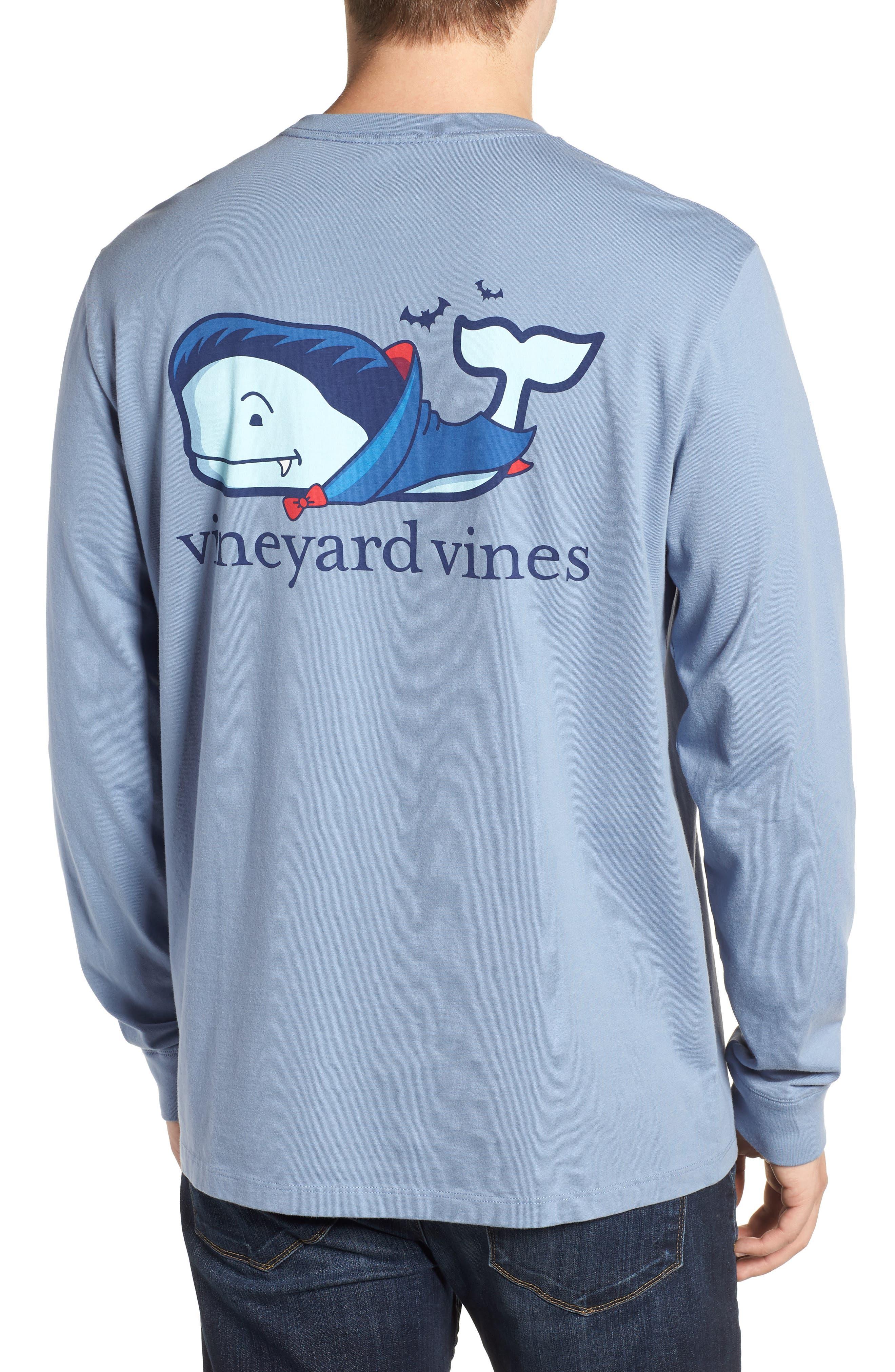 Vampire Whale Pocket T-Shirt,                             Alternate thumbnail 2, color,                             400