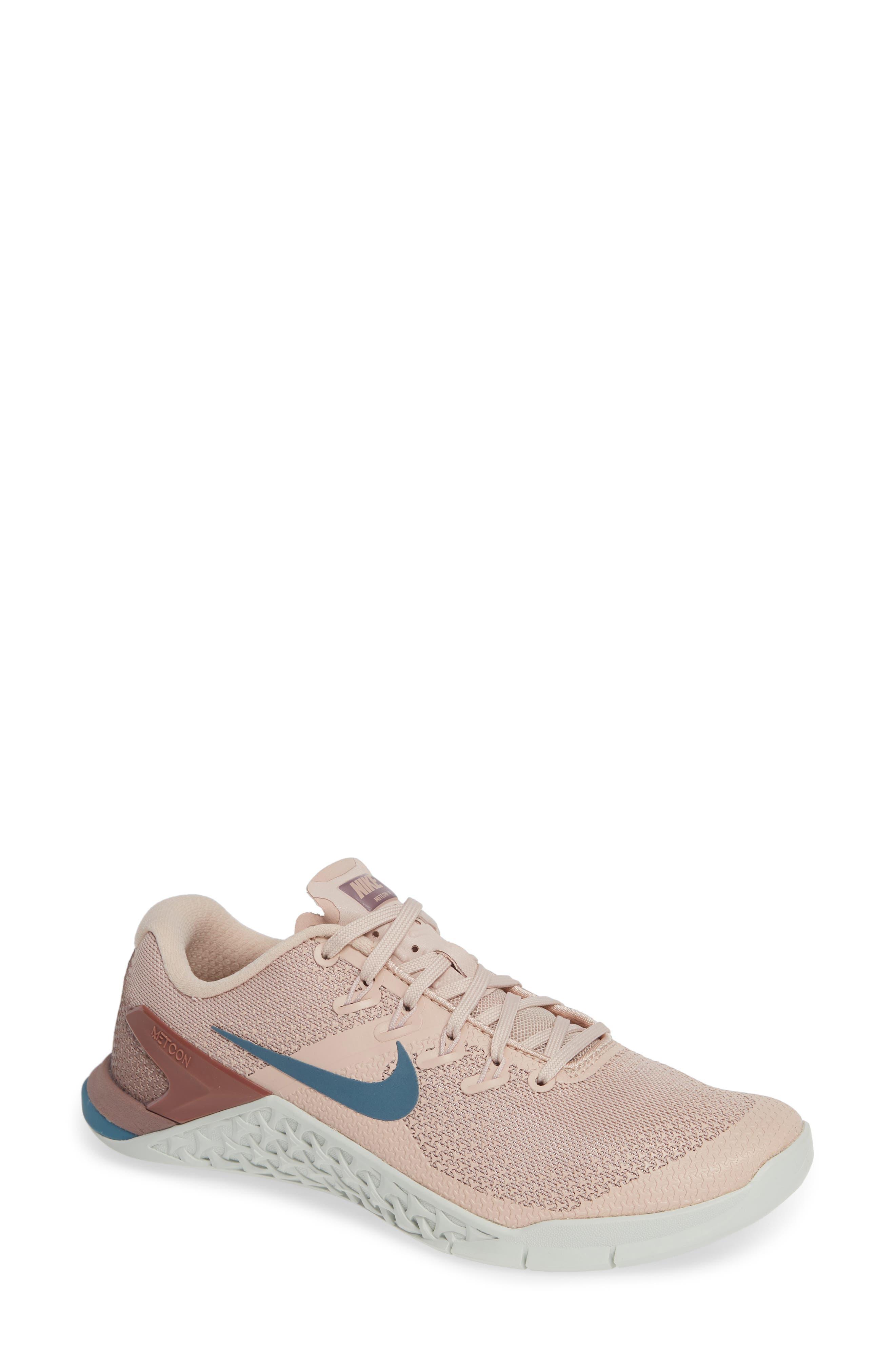 Metcon 4 Training Shoe,                         Main,                         color, PARTICLE BEIGE