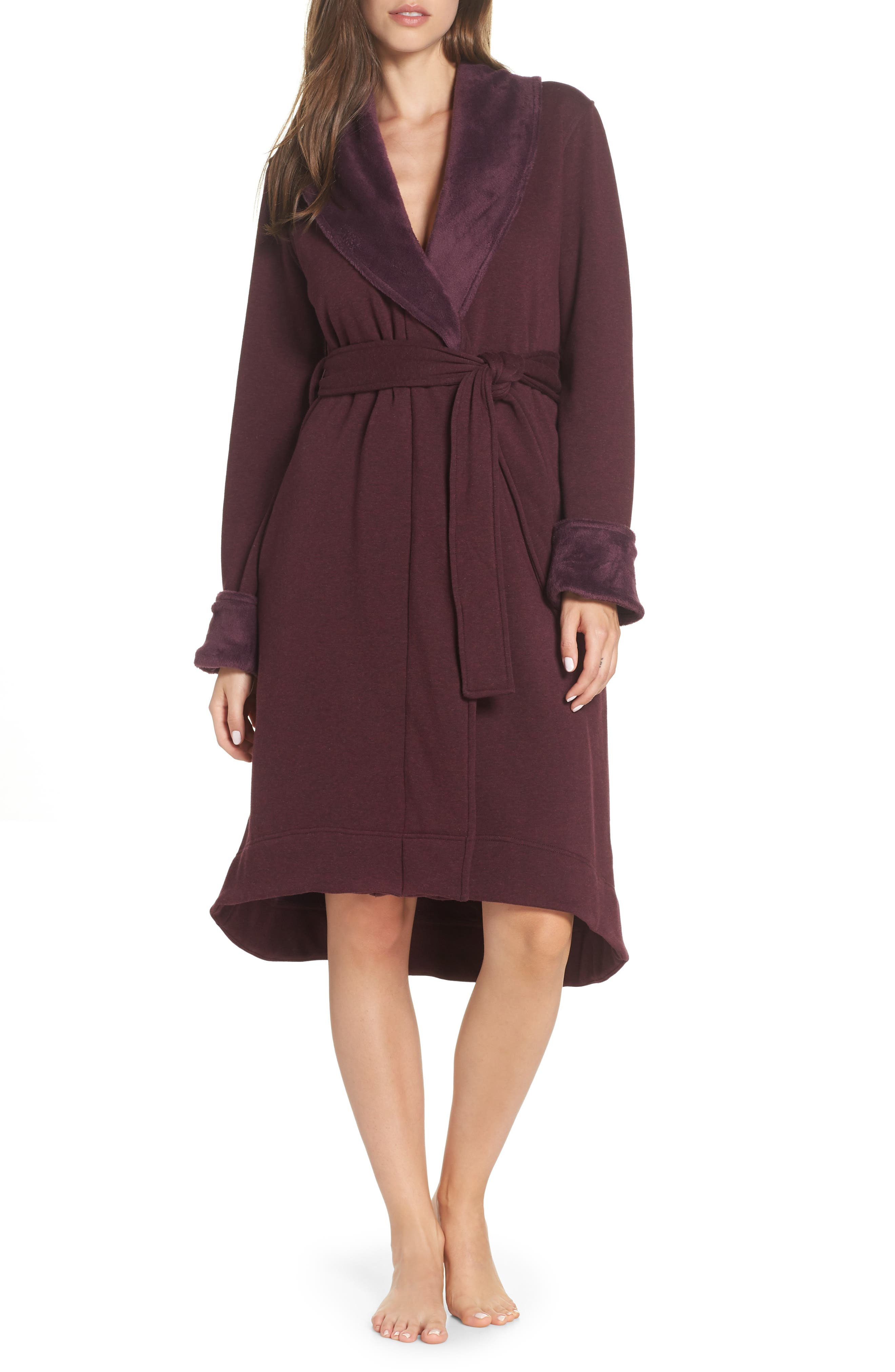 Duffield II Robe,                             Main thumbnail 1, color,                             PORT HEATHER