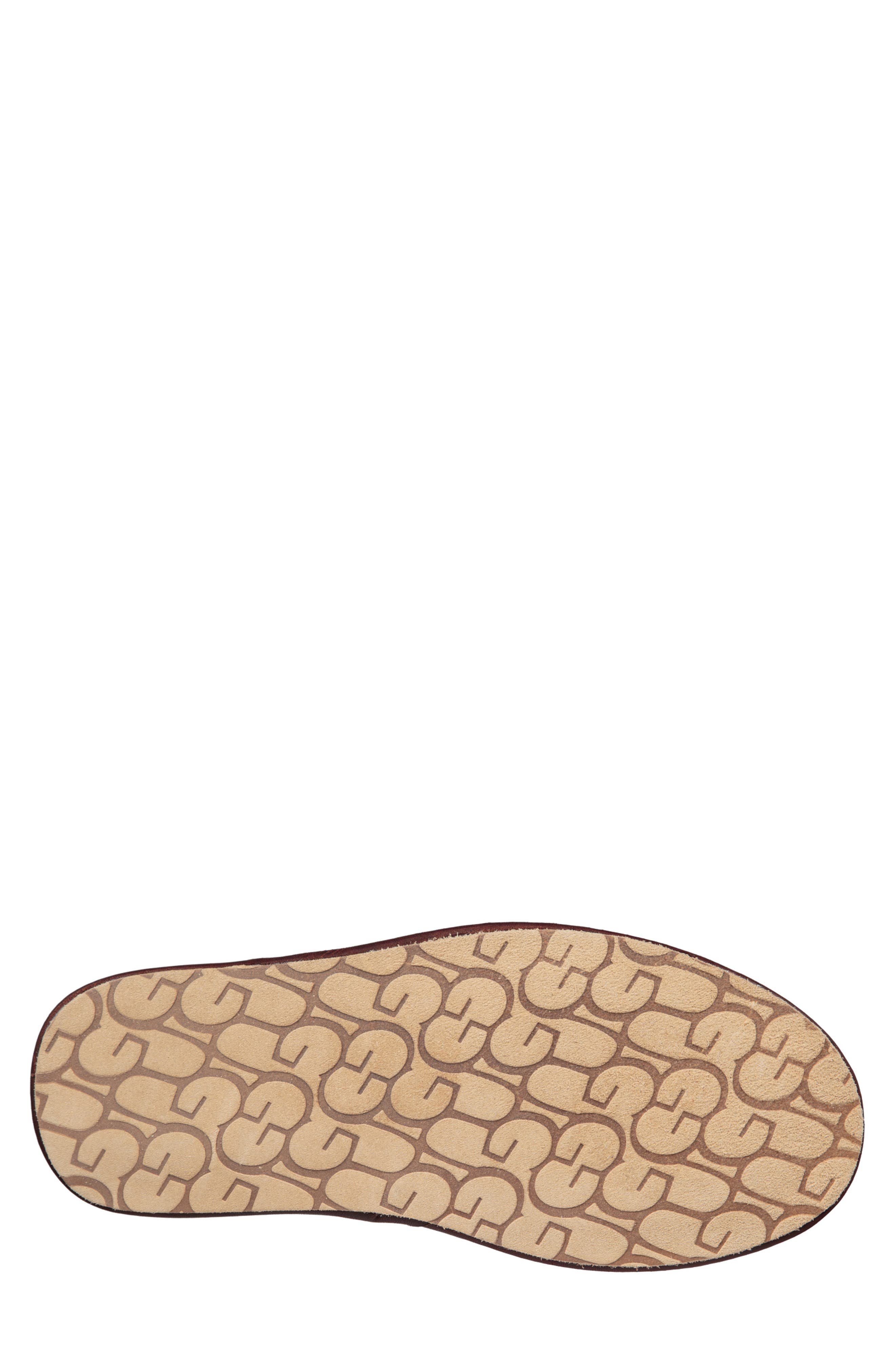 Scuff Slipper,                             Alternate thumbnail 5, color,                             CHESTNUT