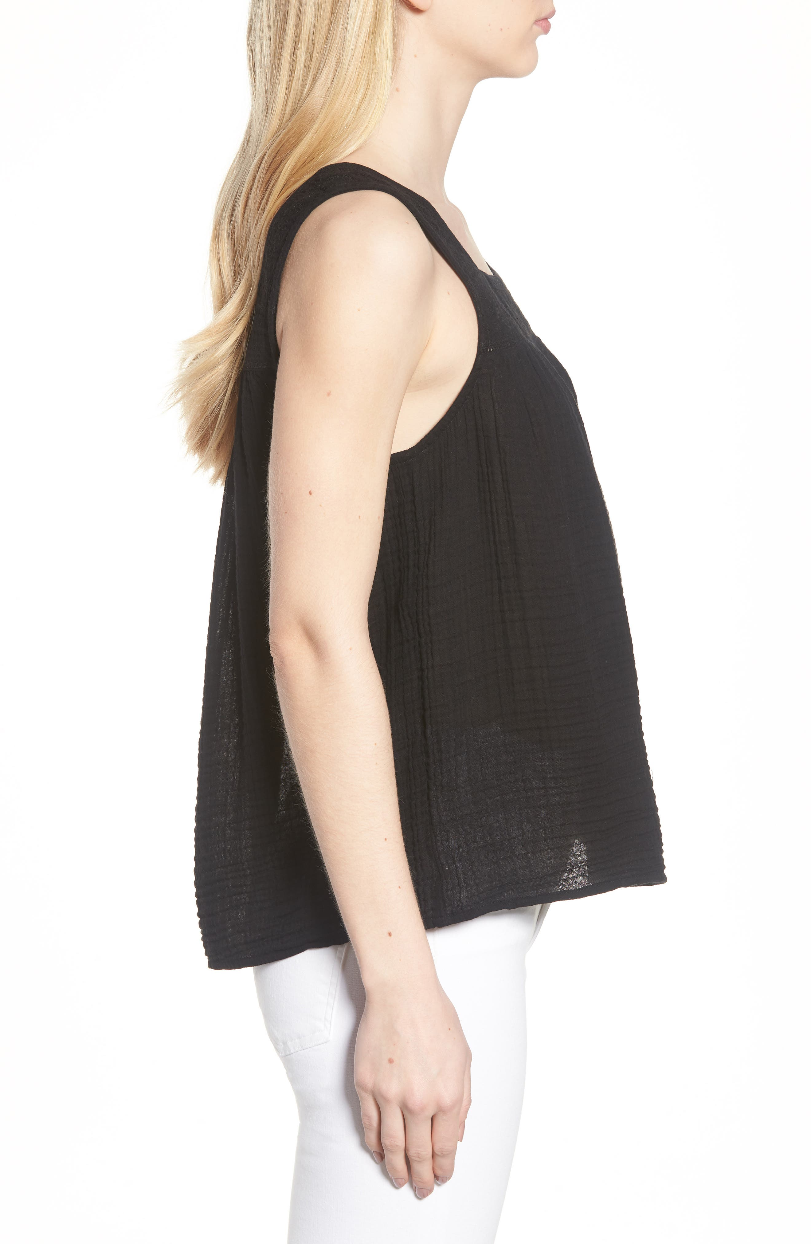Embroidered Neck Swing Tank,                             Alternate thumbnail 11, color,