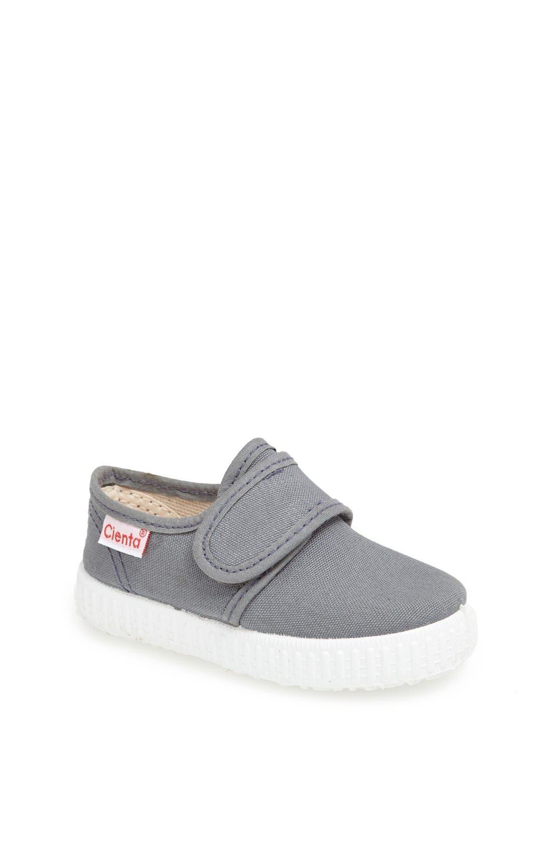 Canvas Sneaker,                         Main,                         color, GREY