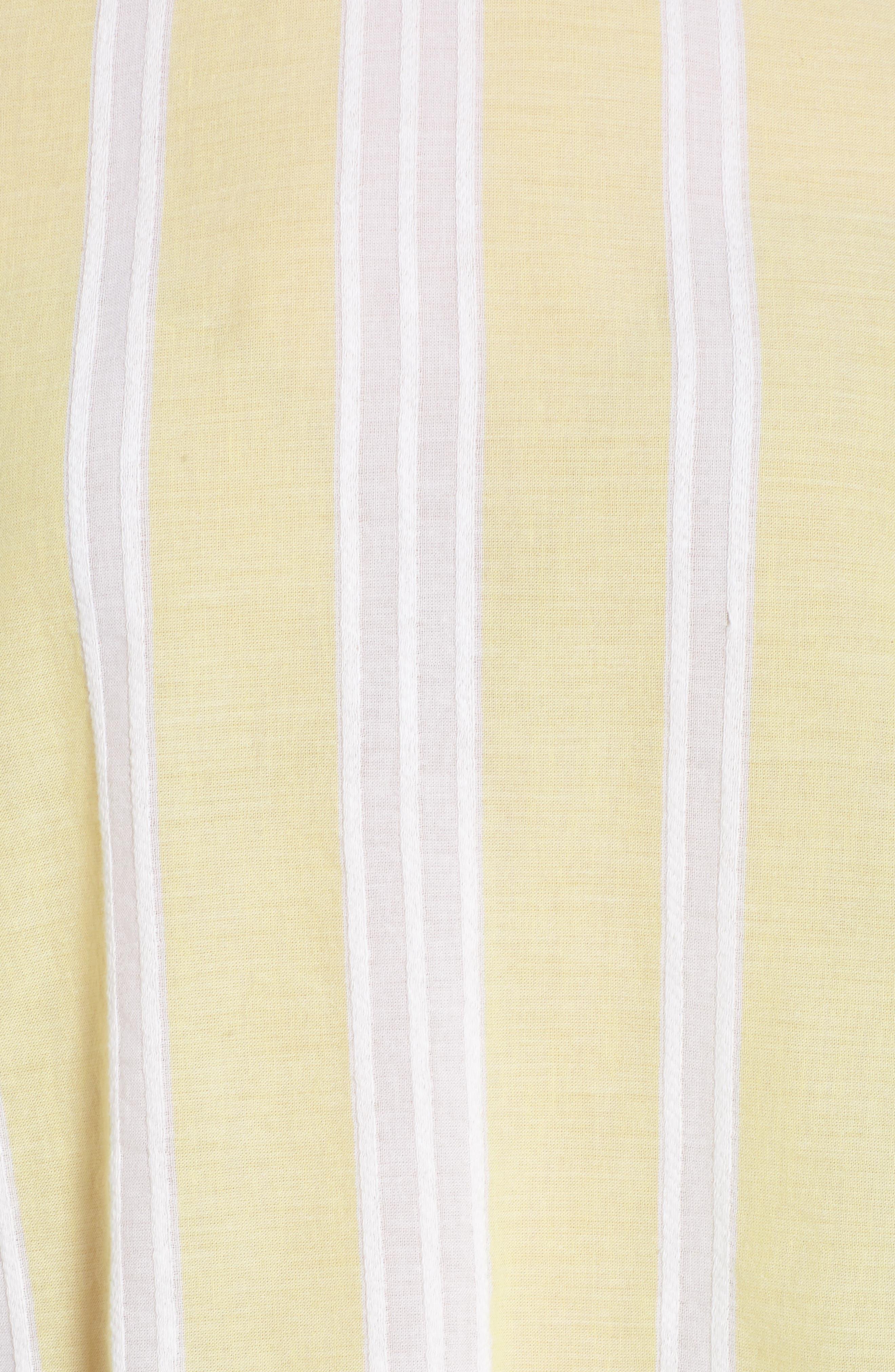 Stripe Tie Back Top,                             Alternate thumbnail 11, color,