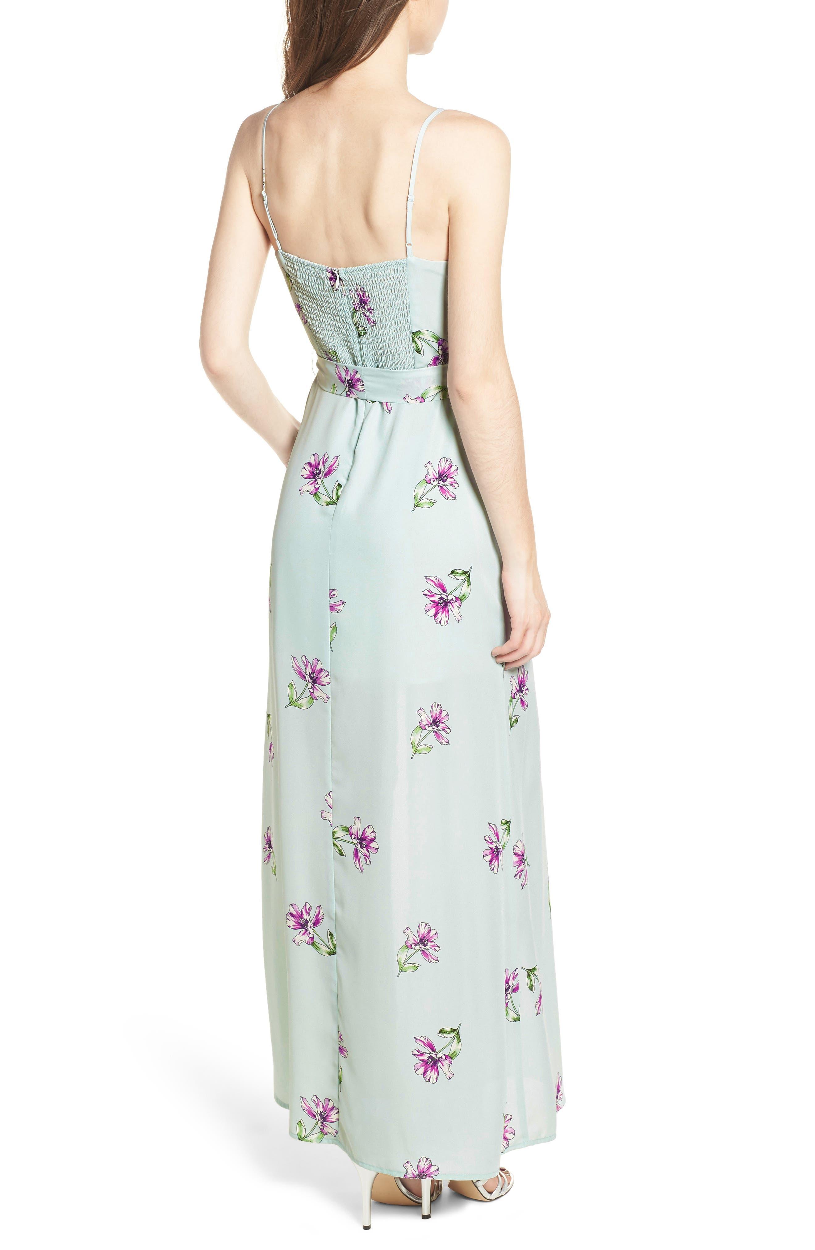 Tie Waist Maxi Dress,                             Alternate thumbnail 2, color,                             300