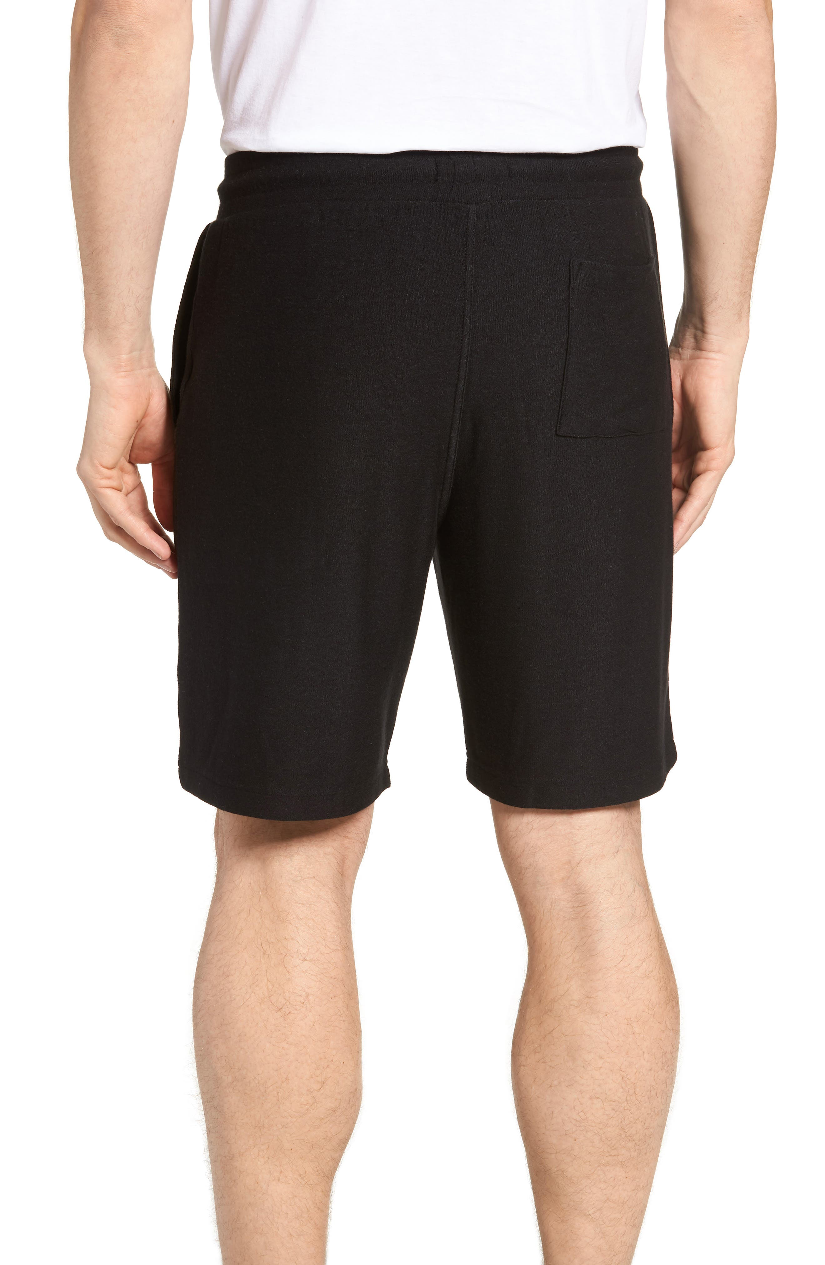 Lounge Shorts,                             Alternate thumbnail 2, color,                             BLACK