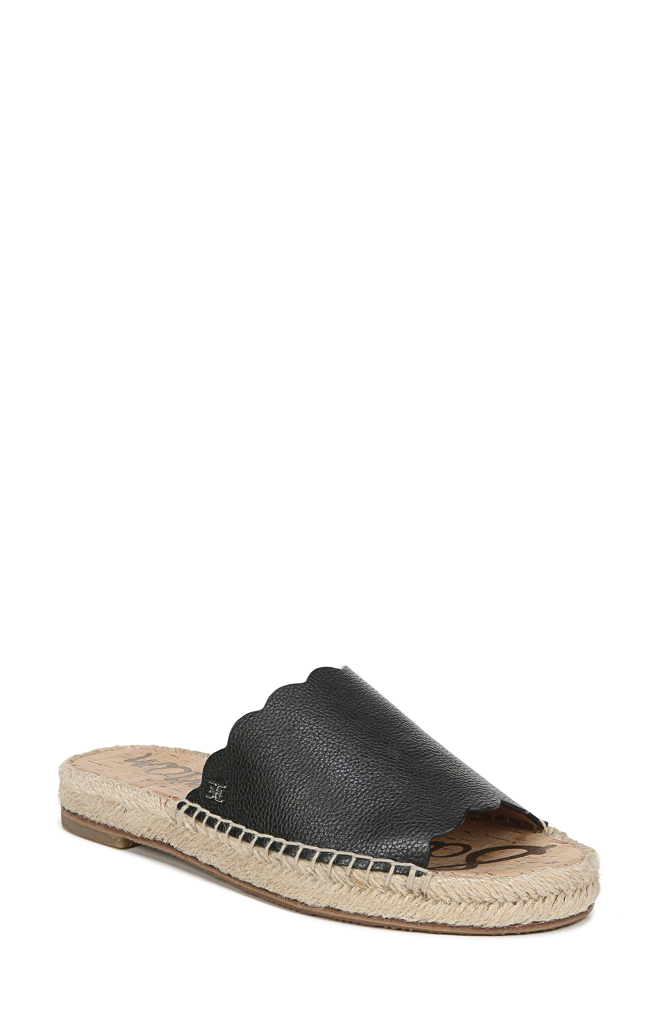 SAM EDELMAN Andy Slide Sandal, Main, color, BLACK
