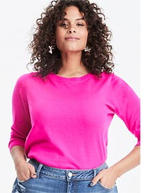 Women's Halogen sweater.
