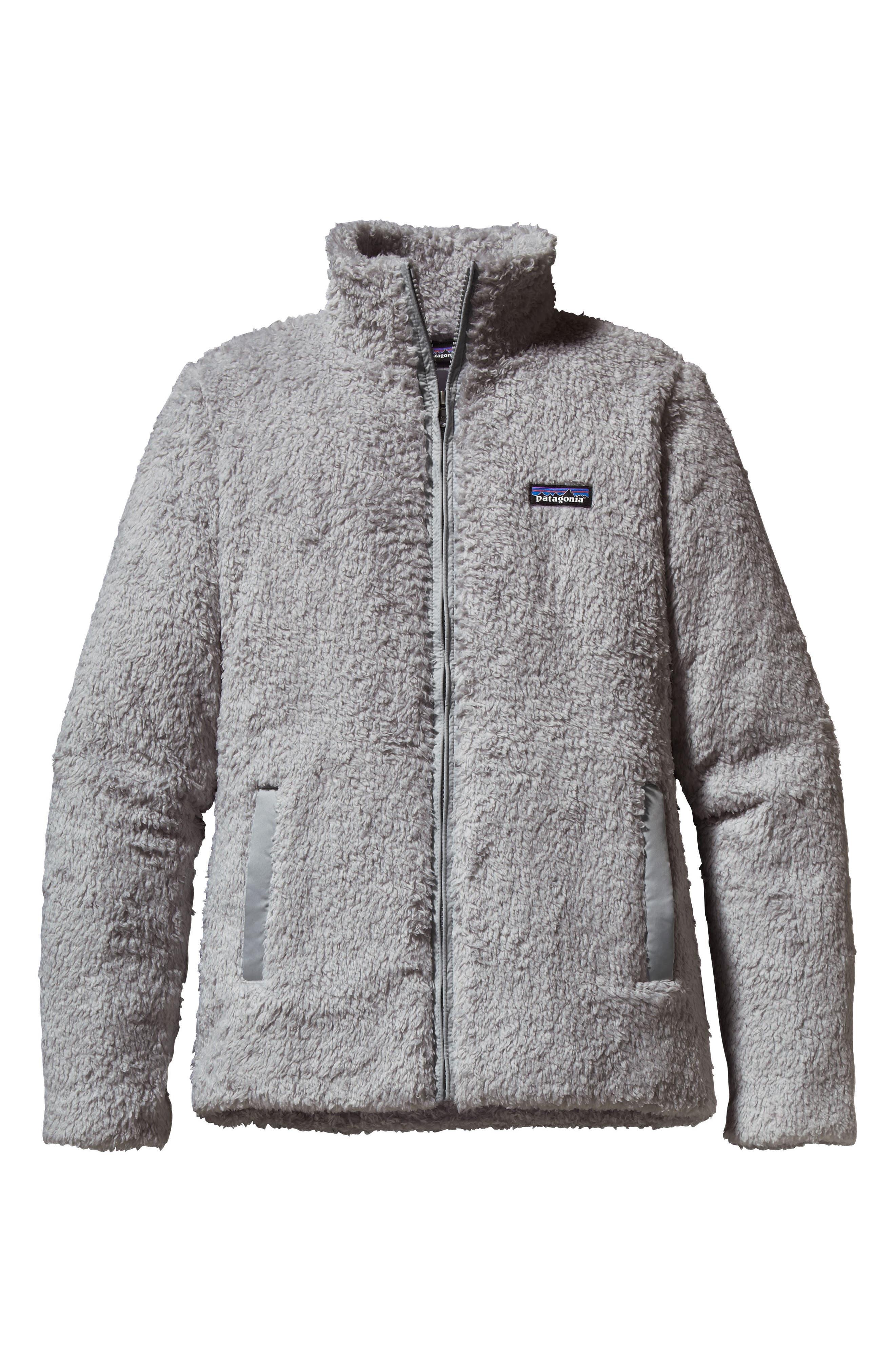 Los Gatos Fleece Jacket,                         Main,                         color, DRIFT GREY