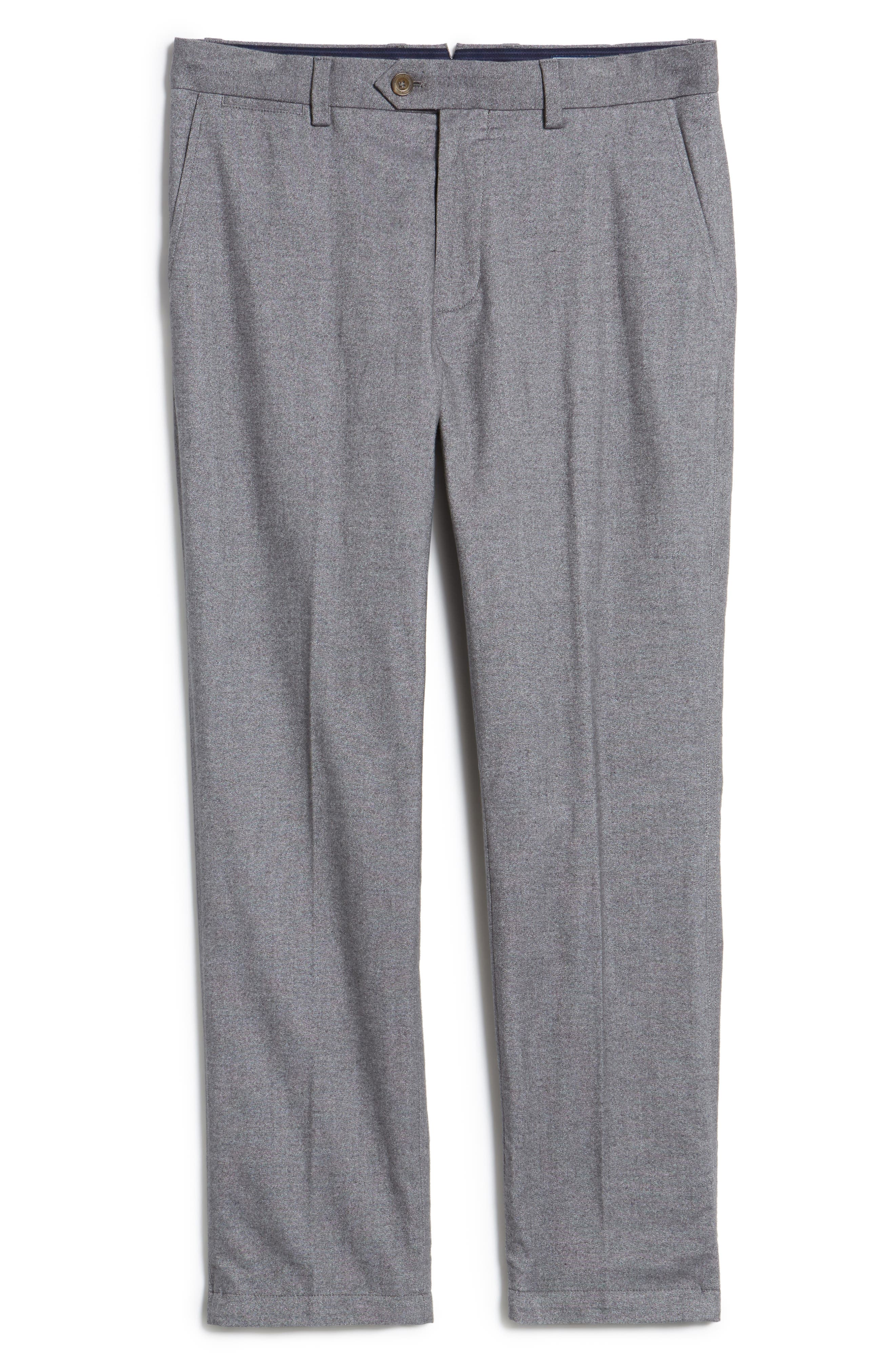 Straight Fit Oxford Burgee Pants,                             Alternate thumbnail 6, color,                             020