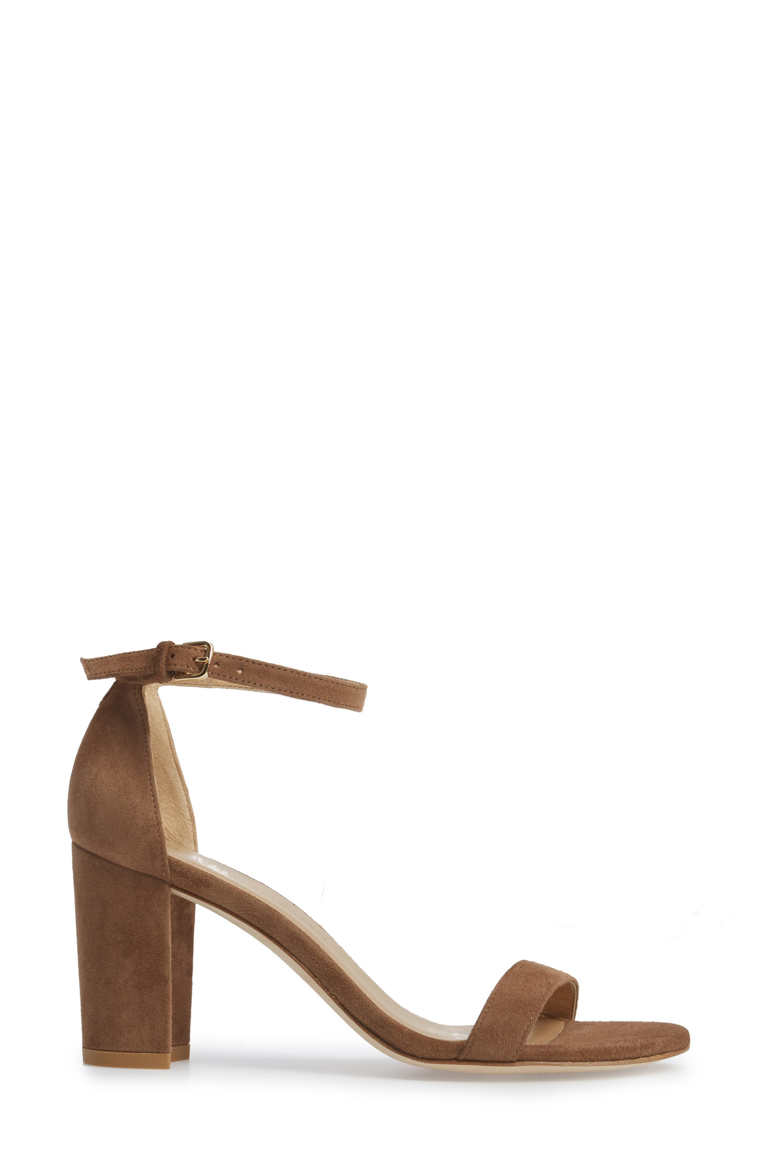 NearlyNude Ankle Strap Sandal,                             Alternate thumbnail 70, color,