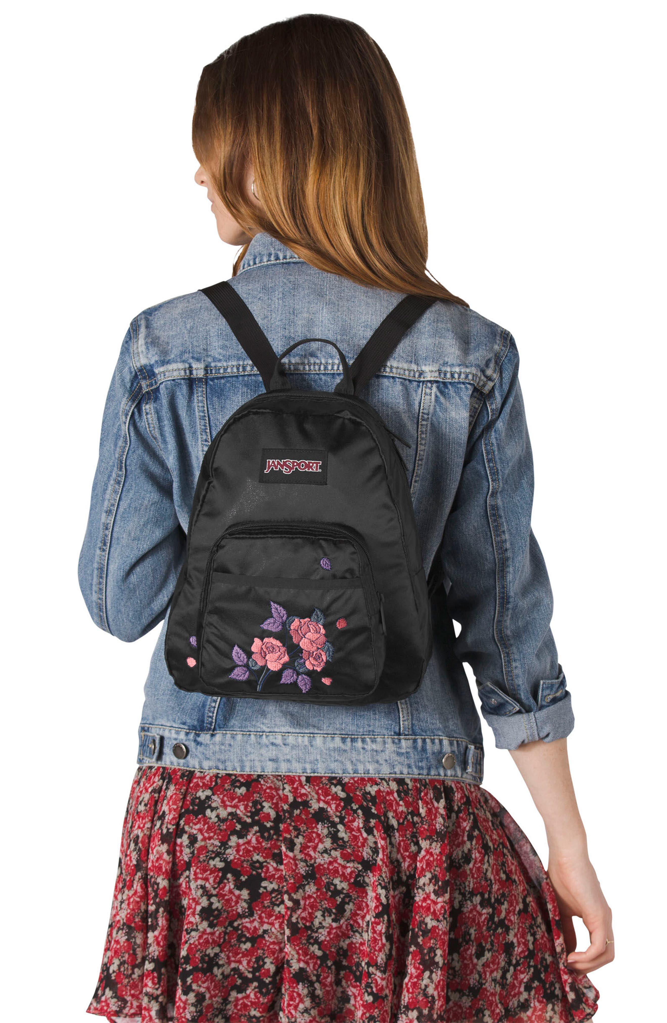 Half Pint FX Backpack,                             Alternate thumbnail 4, color,                             SATIN ROSE