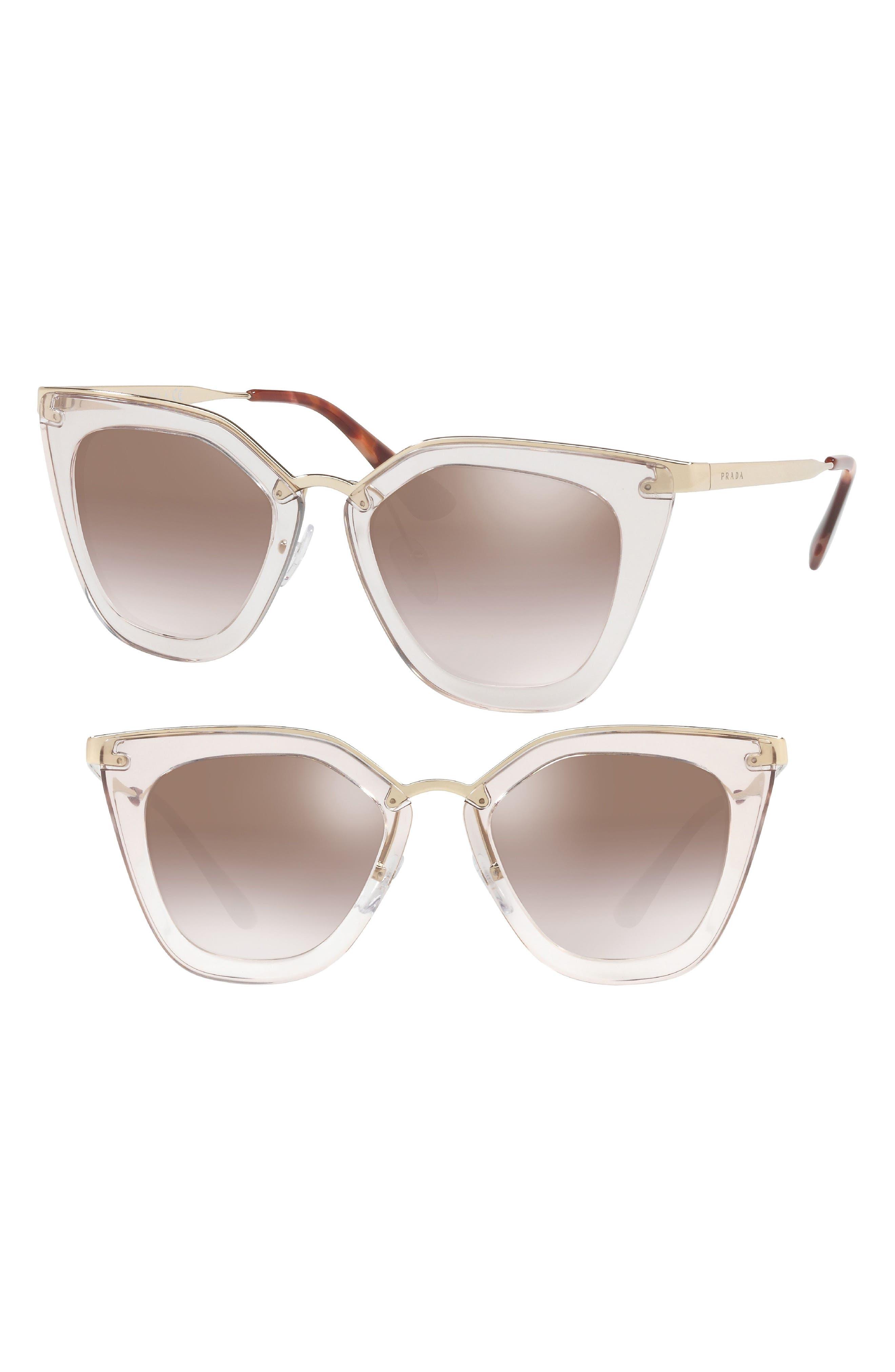 52mm Retro Sunglasses,                         Main,                         color, 200