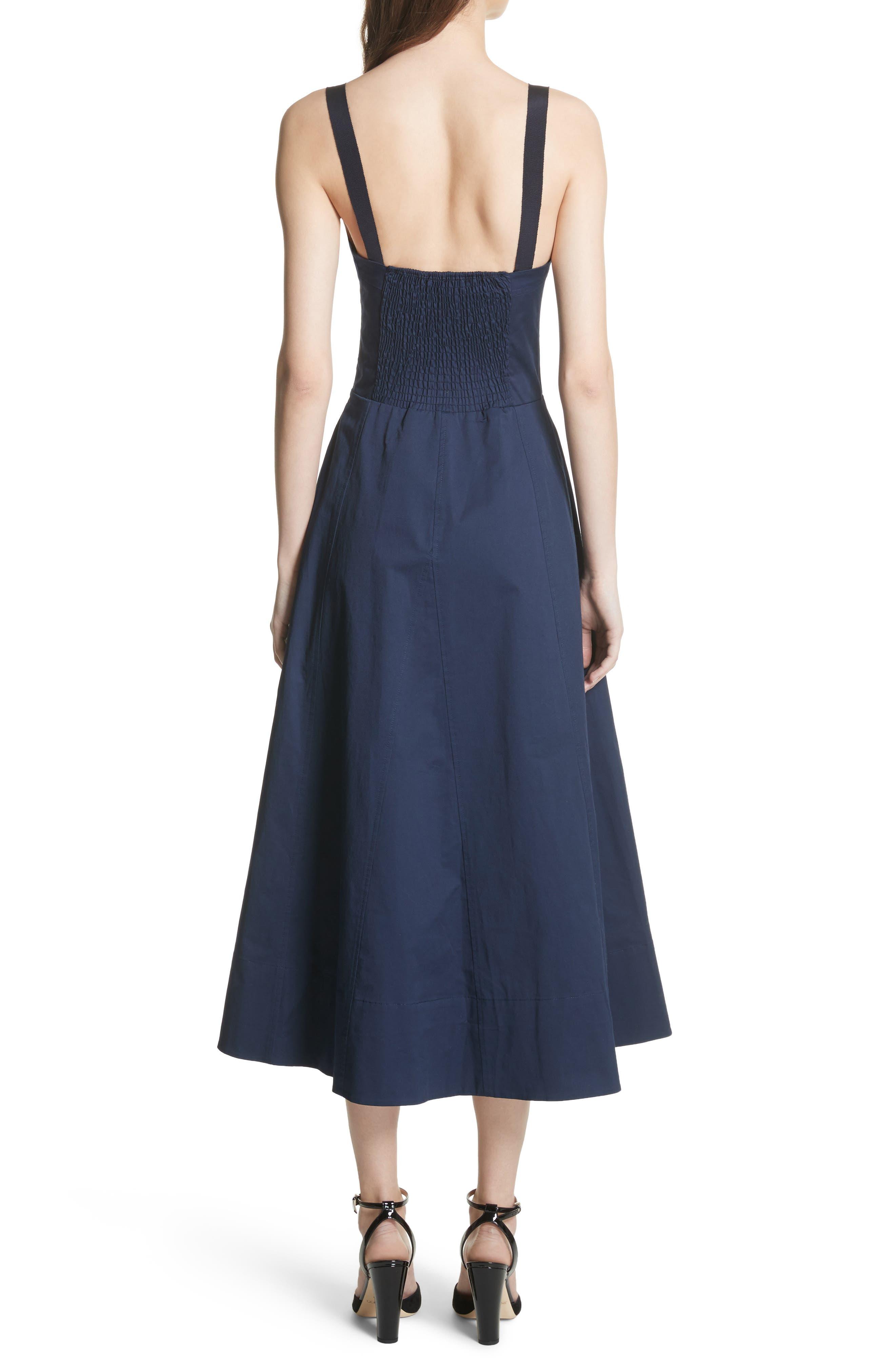 Briel Midi Dress,                             Alternate thumbnail 4, color,